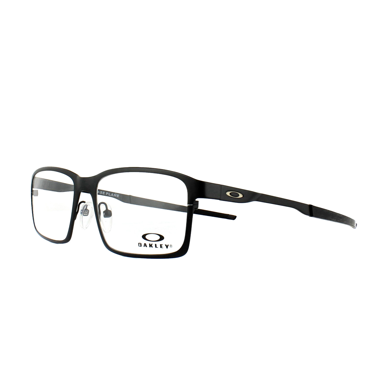 228093e59d Sentinel Oakley Glasses Frames Base Plane OX3232-01 Satin Black 54mm Mens