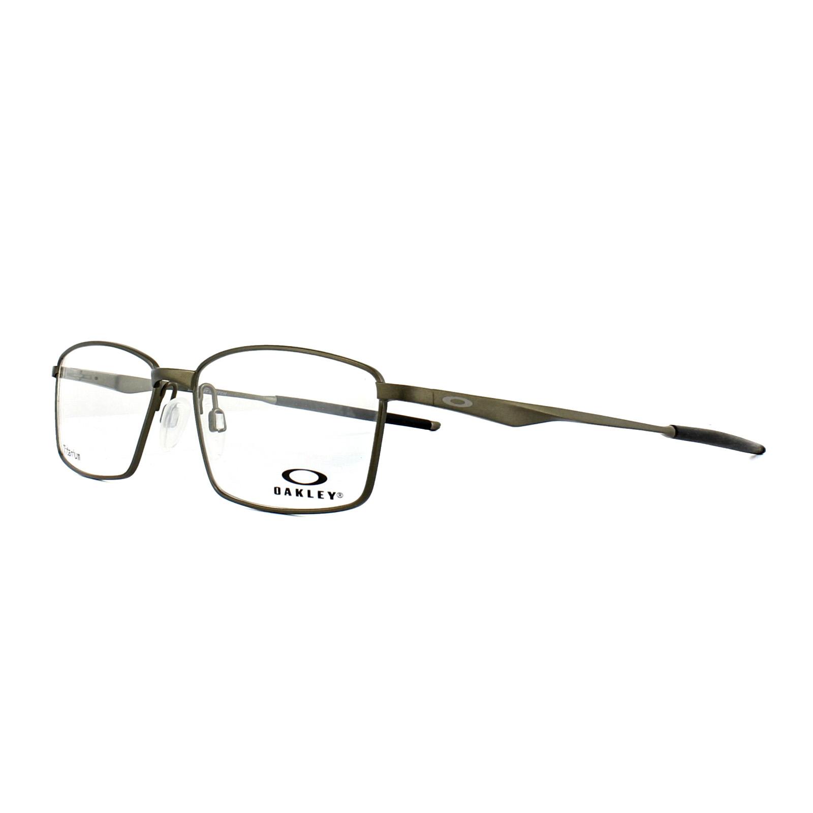 5182a0f770 Sentinel Oakley Glasses Frames Limit Switch OX5121-02 Pewter Black 55mm Mens