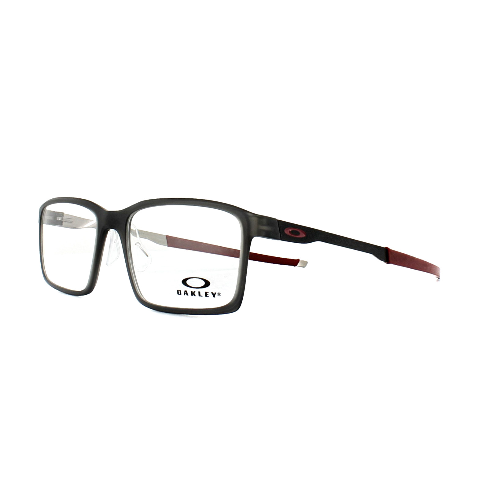 0b8c8691a7 Sentinel Oakley Glasses Frames Steel Line S OX8097-02 Matt Black Ink 54mm  Mens
