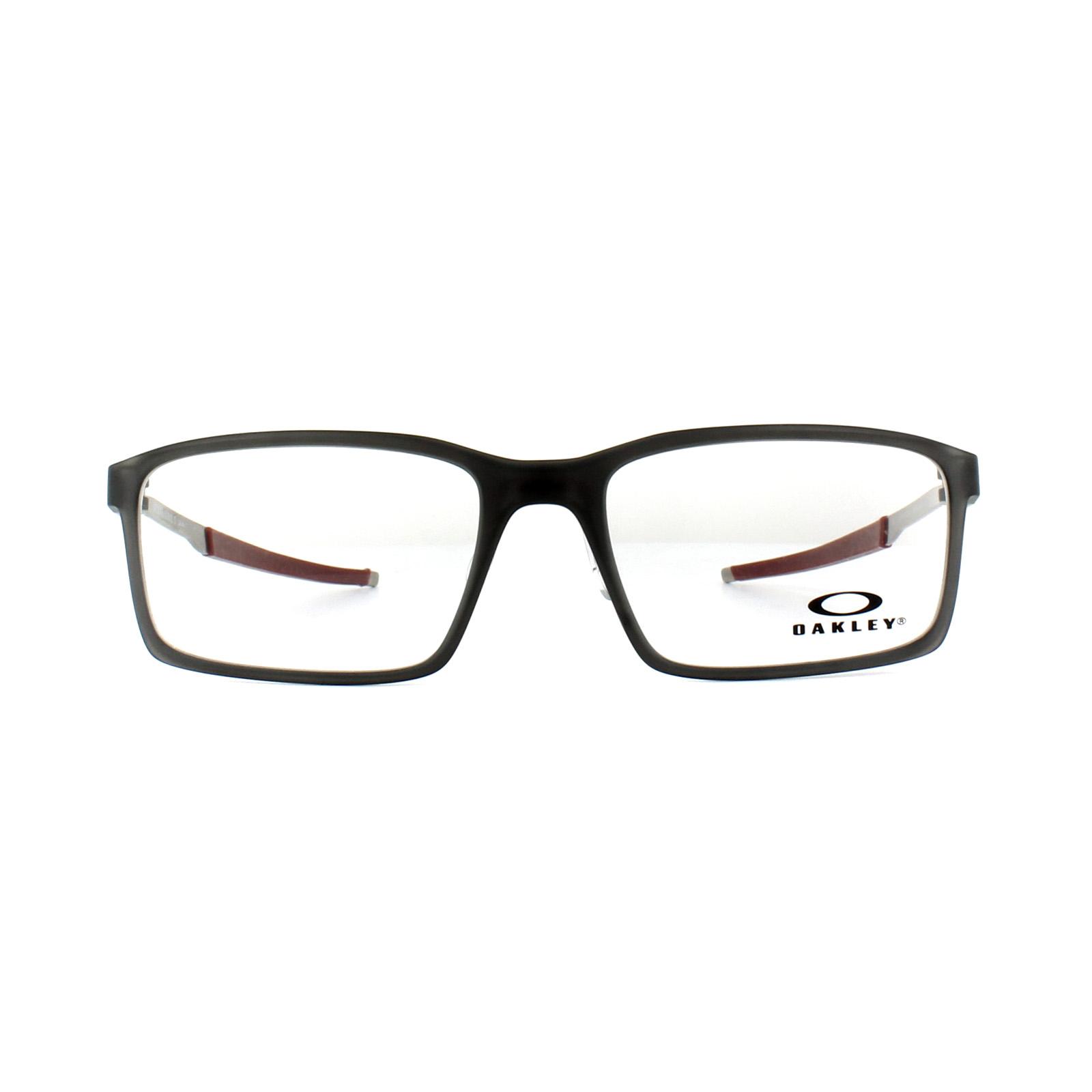 4327694072 Sentinel Oakley Glasses Frames Steel Line S OX8097-02 Matt Black Ink 54mm  Mens