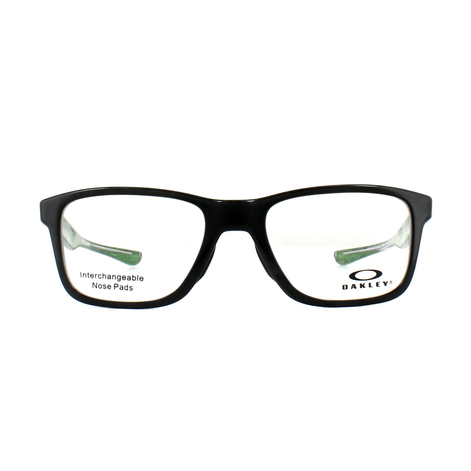 bc570df35b Sentinel Oakley Glasses Frames Trim Plane OX8107-02 Polished Black 51mm Mens