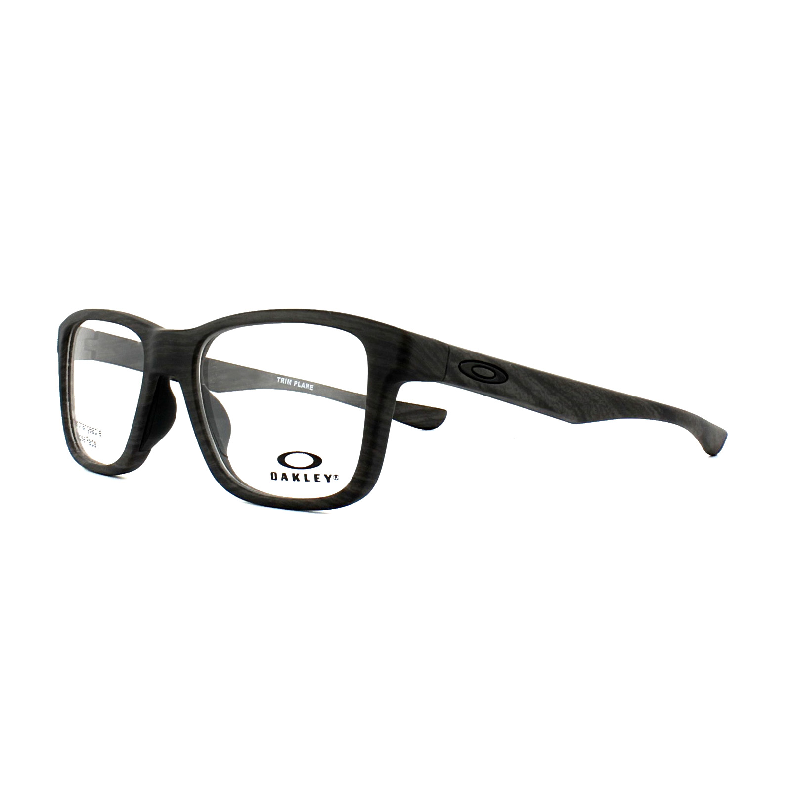85db6fc0dc51 Sentinel Oakley Glasses Frames Trim Plane OX8107-02 Polished Black 53mm Mens