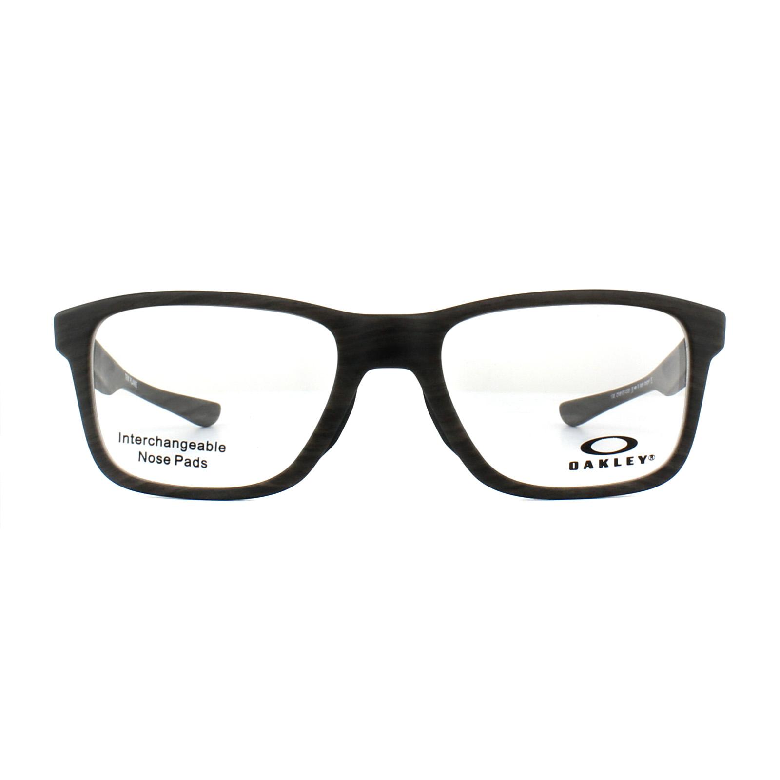 d228a2c478 Sentinel Oakley Glasses Frames Trim Plane OX8107-02 Polished Black 53mm Mens