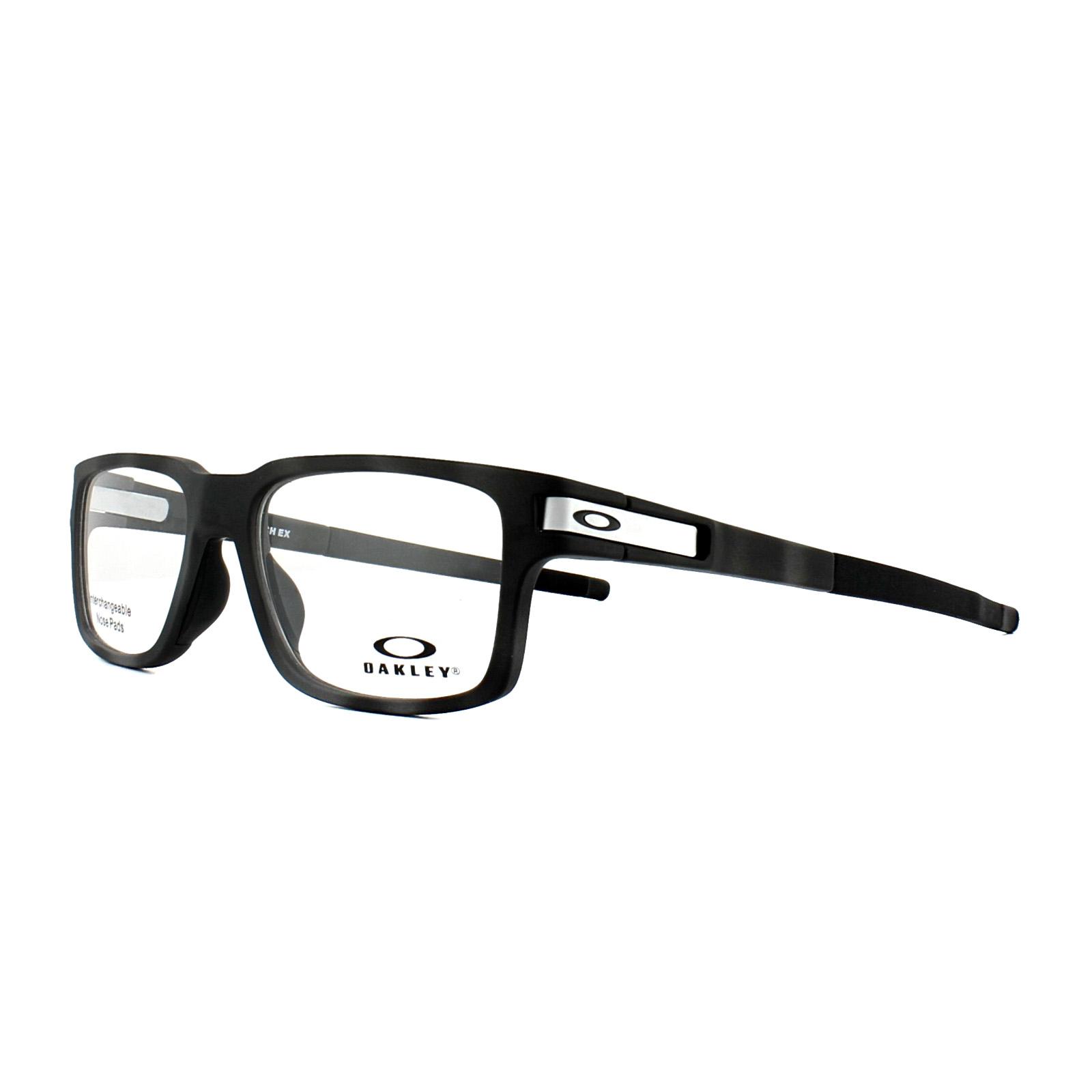 Oakley Glasses Frames Latch EX OX8115-05 Black Camo 52mm Mens ...