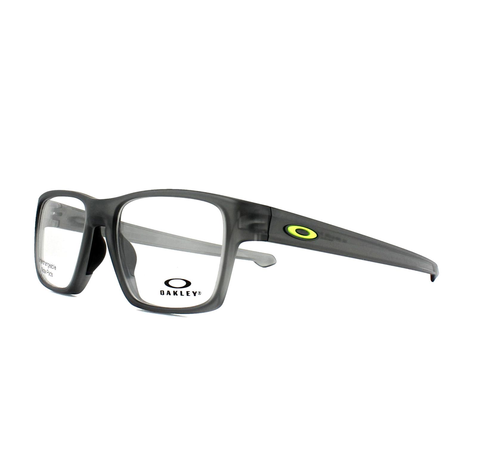 115fa032add2c Sentinel Oakley Glasses Frames Litebeam OX8140-02 Satin Grey Smoke 53mm Mens