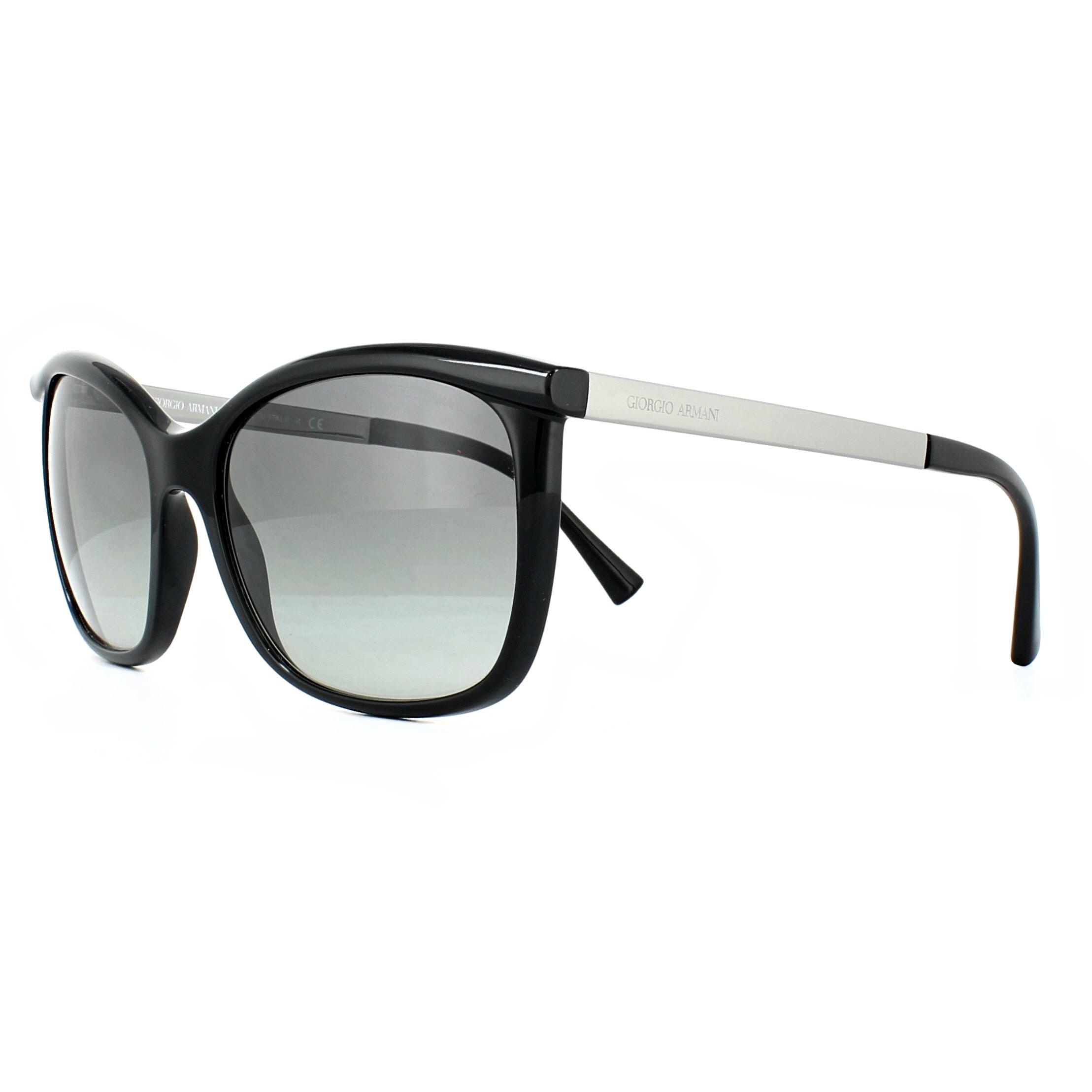 a996f438f0 Sentinel Giorgio Armani Sunglasses AR8069 501711 Black Grey Gradient