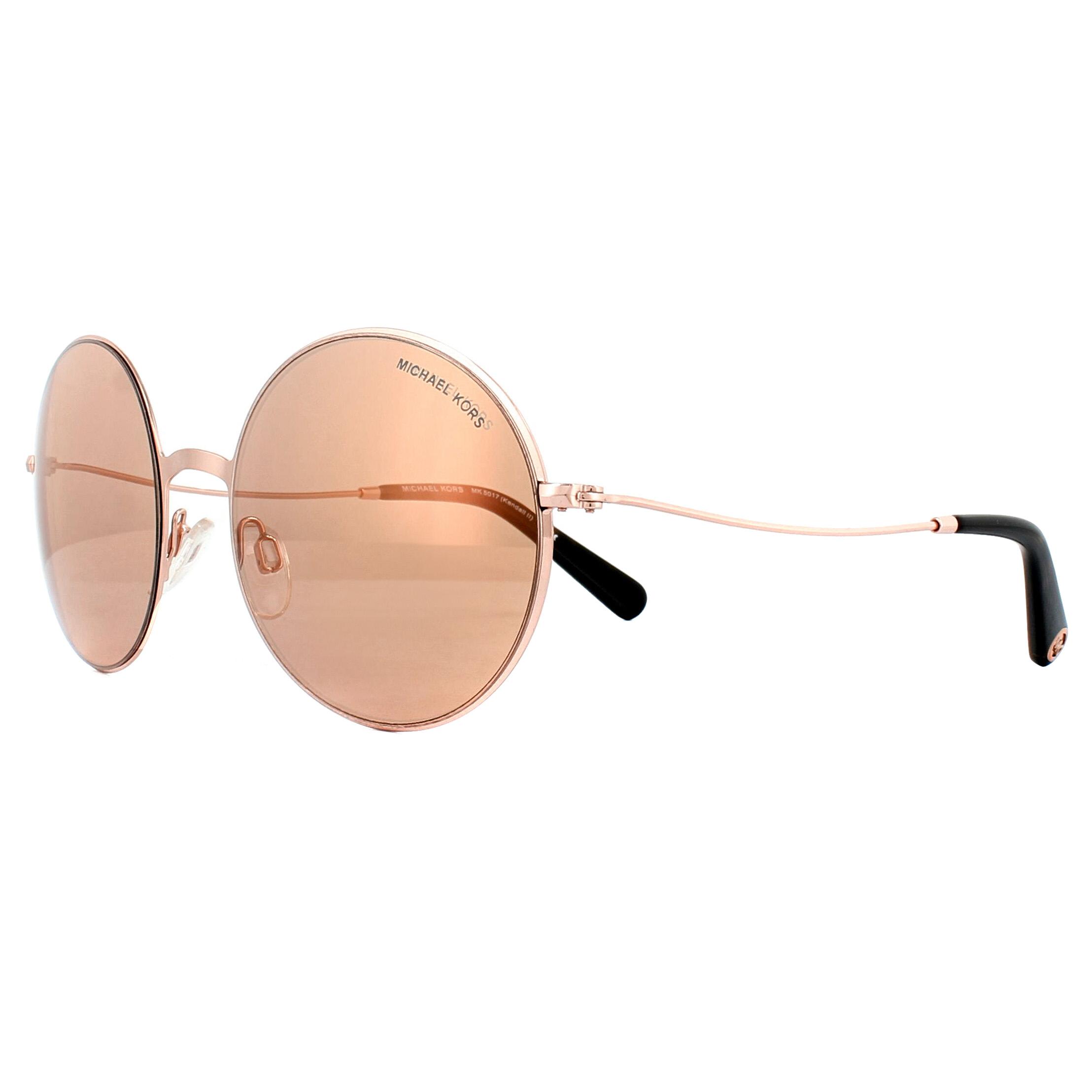 a634c28777a Sentinel Michael Kors Sunglasses Kendall II 5017 1026R1 Rose Gold Rose Gold  Flash