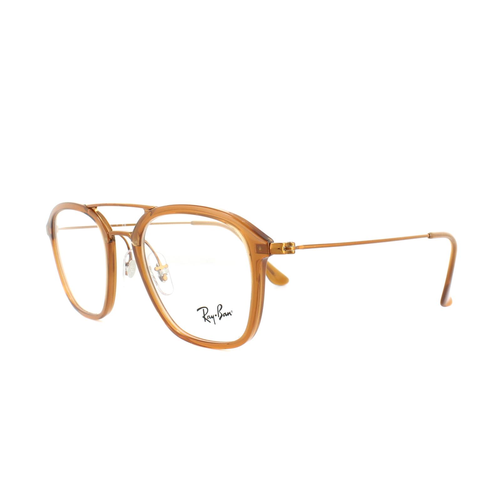 93da8abd4c Ray-Ban Glasses Frames RX 7098 5634 Brown Mens 50mm 8053672603798
