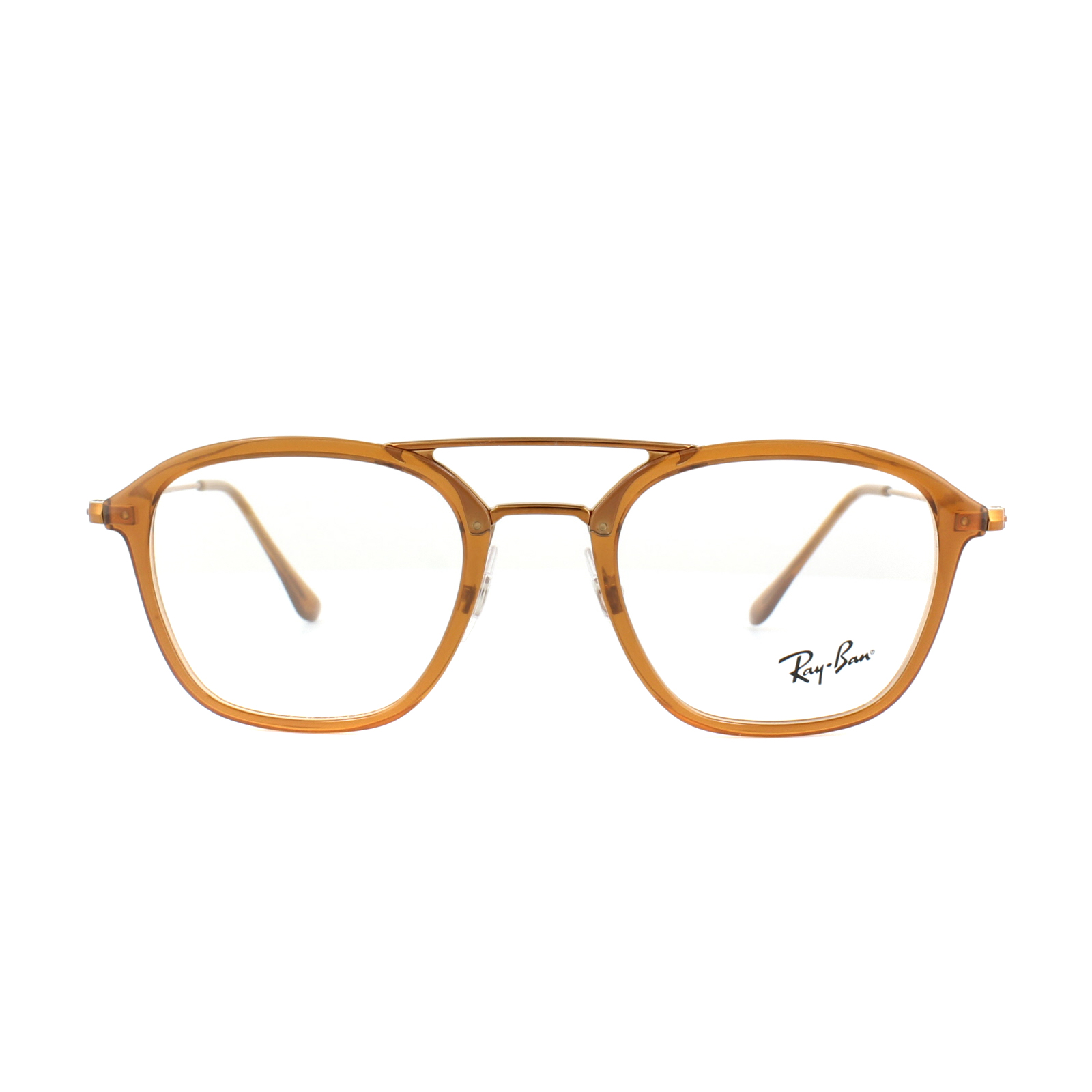 50b338a518f Ray-Ban Glasses Frames RX 7098 5634 Brown Mens 50mm 8053672603798