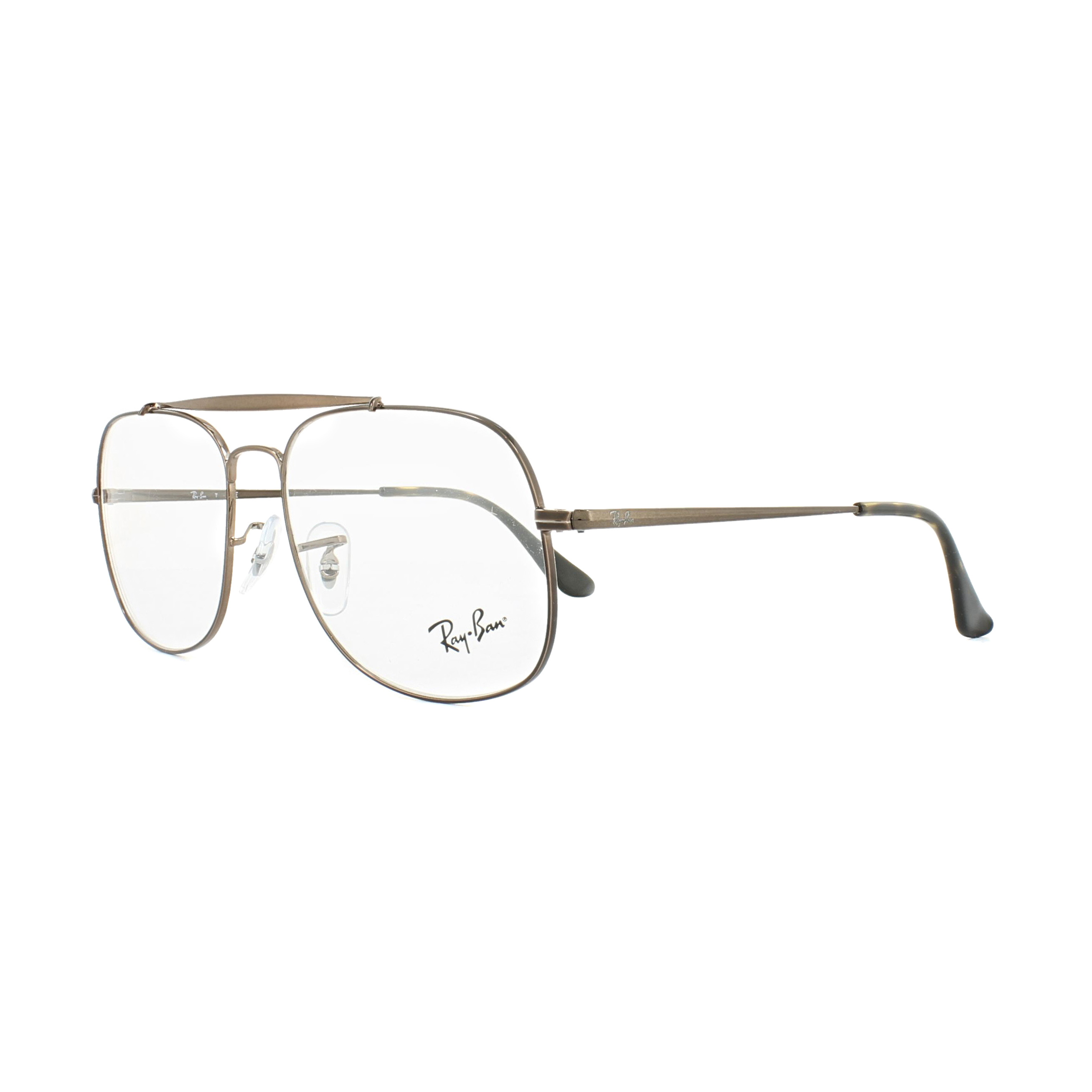 5c207d09f4 Sentinel Ray-Ban Glasses Frames 6389 The General 2531 Light Brown 55mm Mens