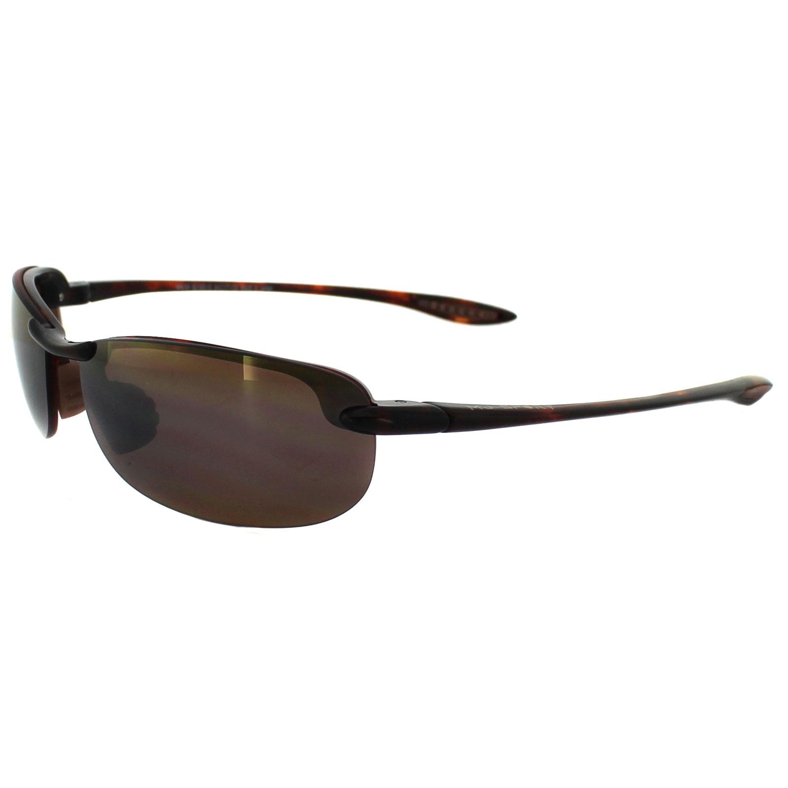 2e1512d95e Sentinel Maui Jim Sunglasses Makaha H405-10 Tortoise Bronze Polarized