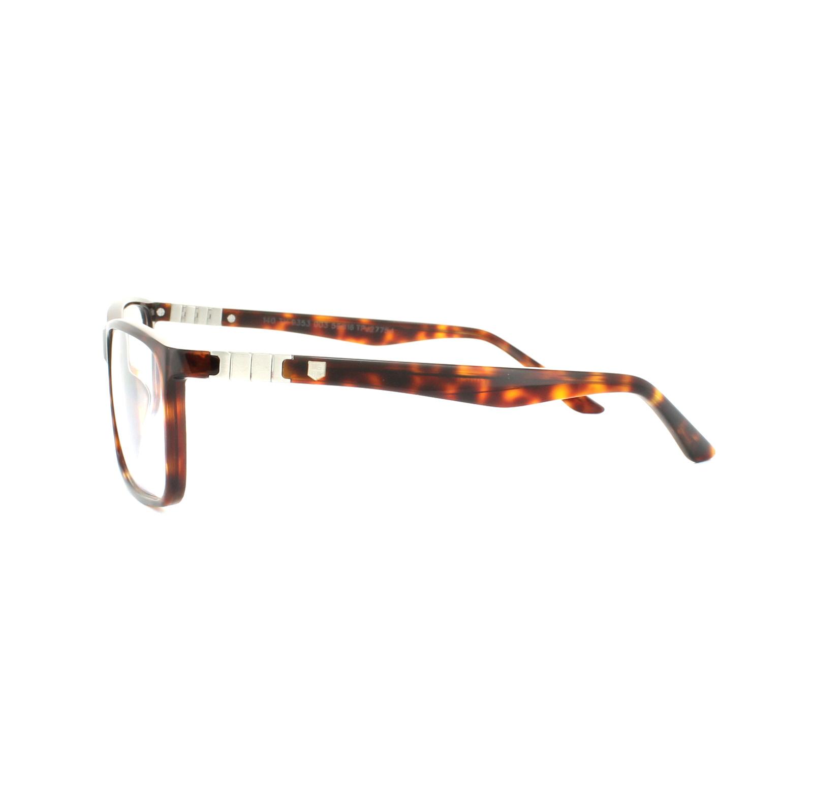 01fc4825c5 Sentinel Tag Heuer Glasses Frames Legend Acetate 9353 003 Tortoise