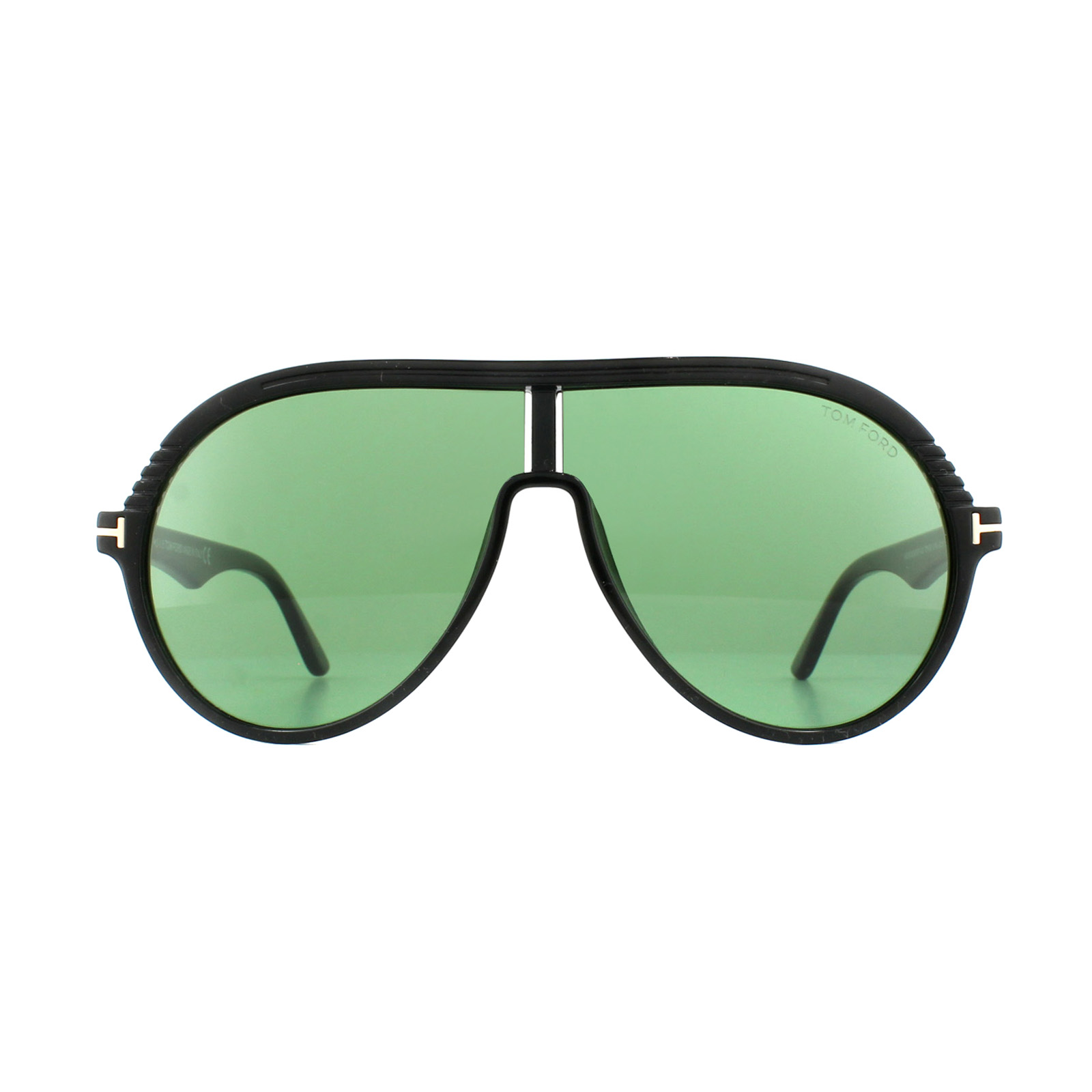 90acba6519c8 Sentinel Tom Ford Sunglasses 0647 Montgomery 01N Shiny Black Green