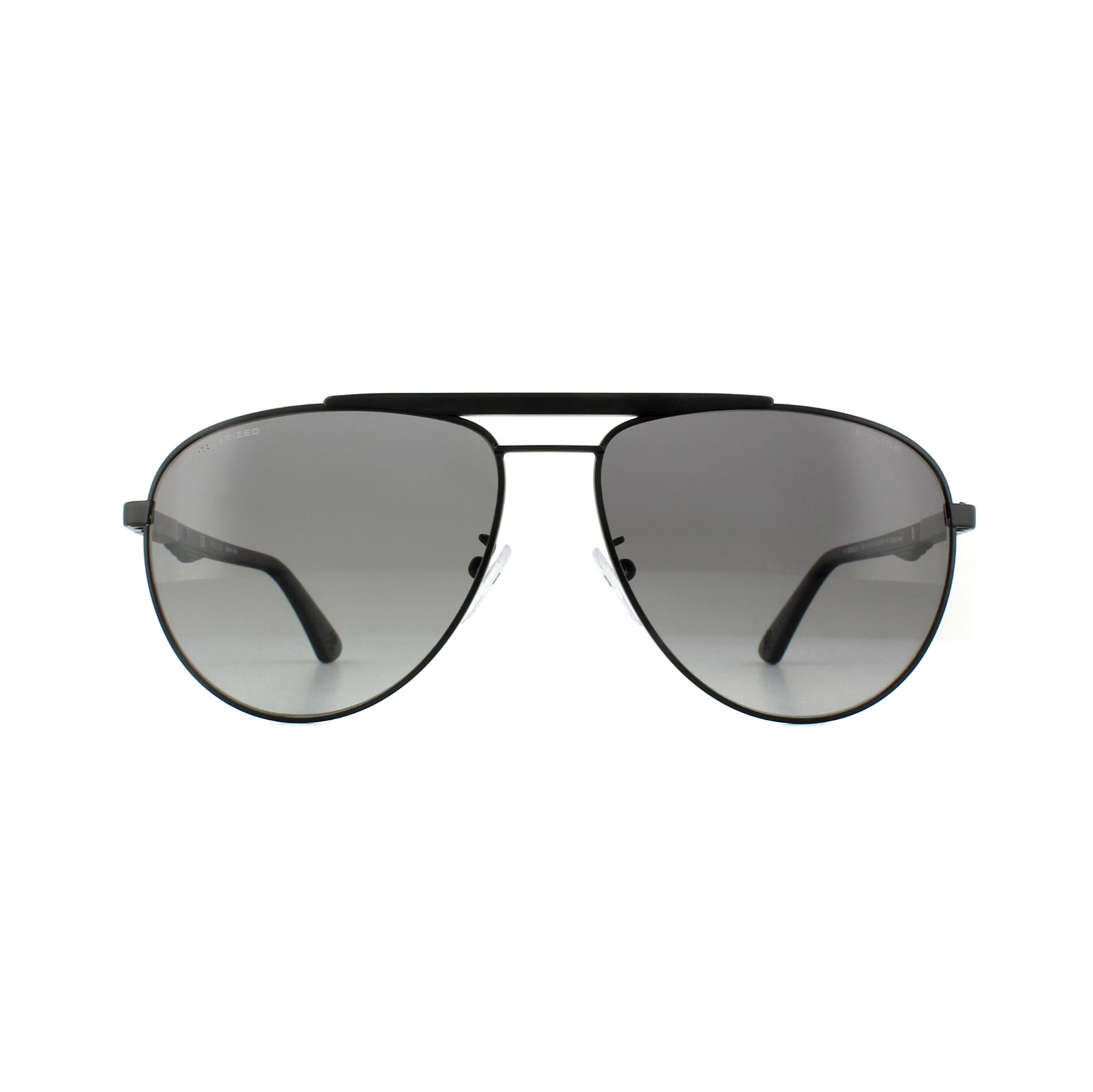 Sentinel Police Sunglasses SPL364 Brooklyn 1 531P Semi Matt Black Grey  Gradient Polarized. Sentinel Thumbnail 3 c574237843