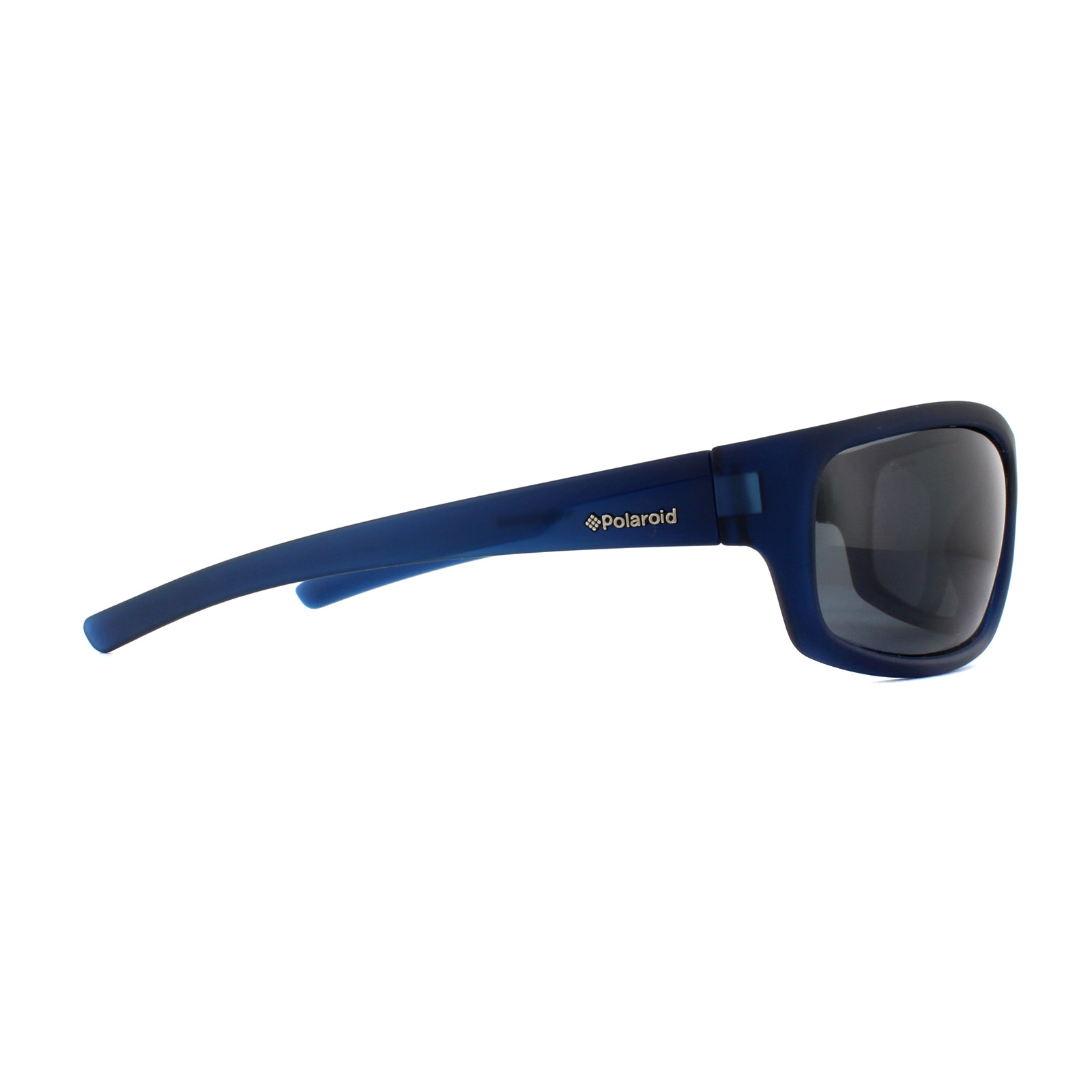 Sentinel Polaroid Sport Sunglasses P8411 148 Y2 Rubber Blue Grey Polarized 4079ece098