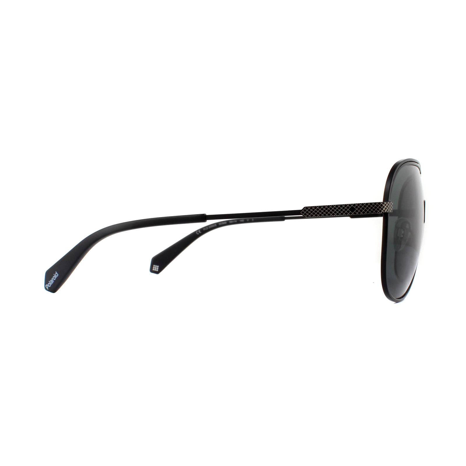 492c1c0aa6 CENTINELA Polaroid gafas de sol PLD 2055/S 003 M9 negro mate Gris polarizado