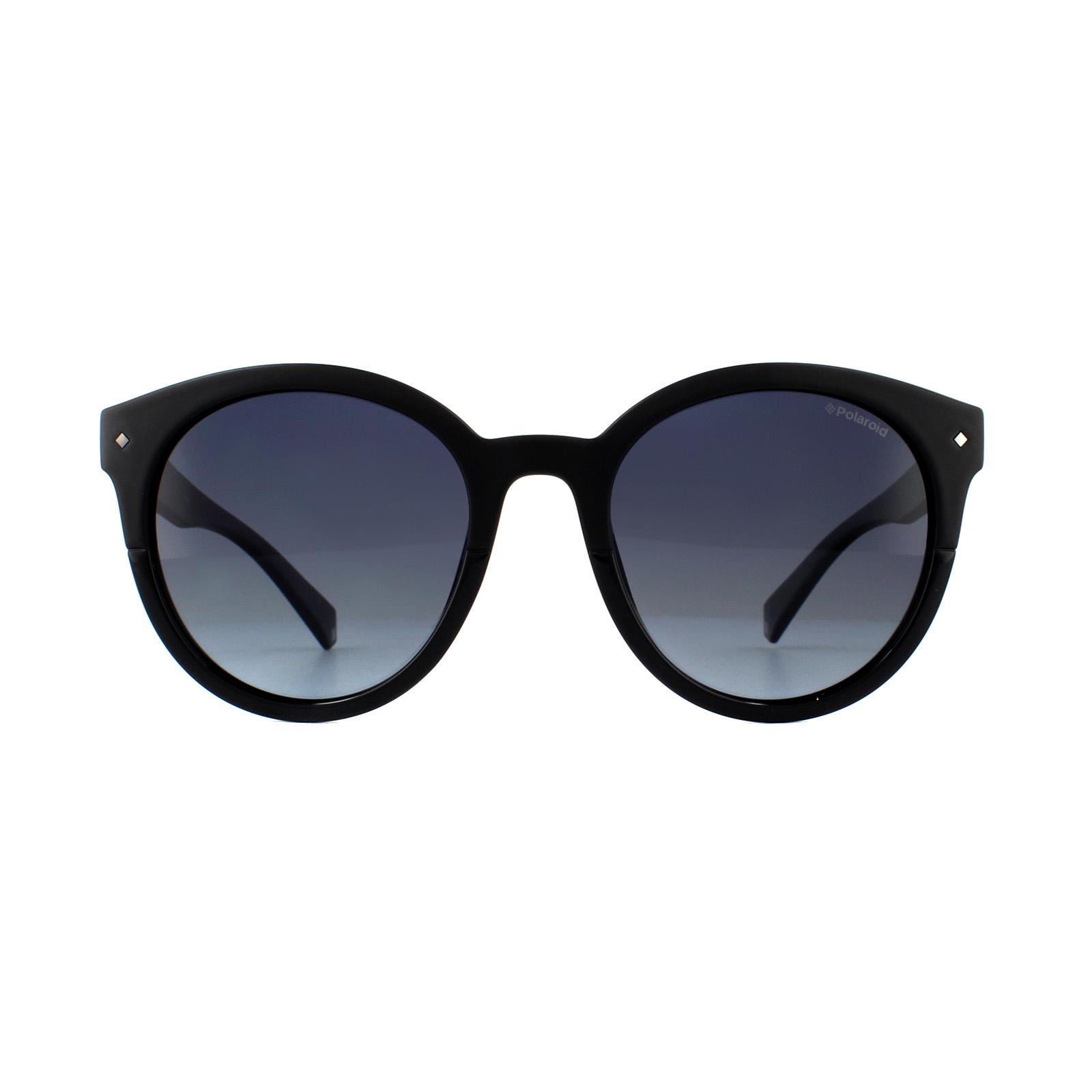 035c6bdd9249b Sentinel Polaroid Sunglasses PLD 6043 S 807 WJ Black Grey Gradient Polarized
