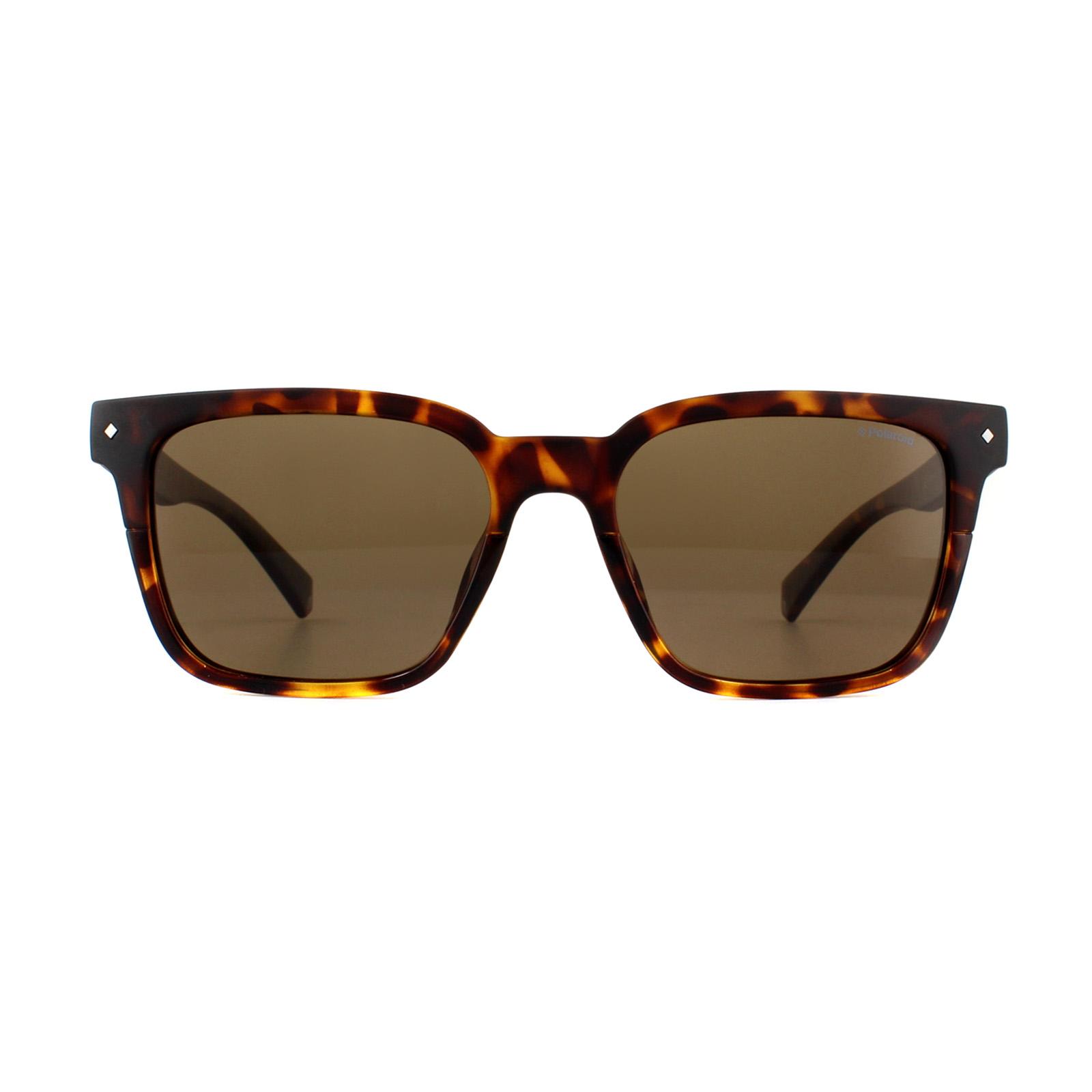 a3659316989 Sentinel Polaroid Sunglasses PLD 6044 S 086 SP Dark Havana Bronze Polarized