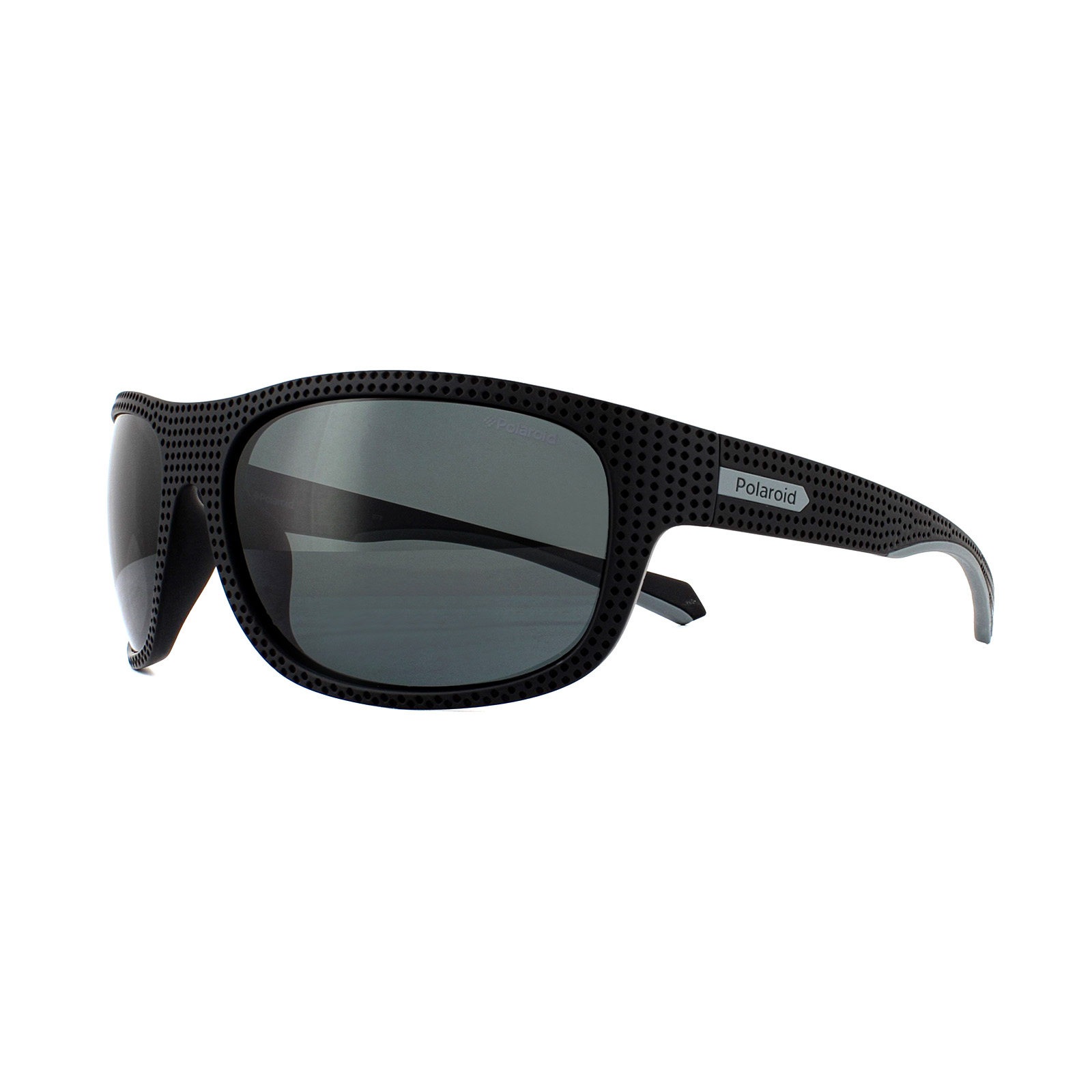 c24874b57a Sentinel Polaroid Sport Sunglasses PLD 7022 S 807 M9 Black Grey Polarized