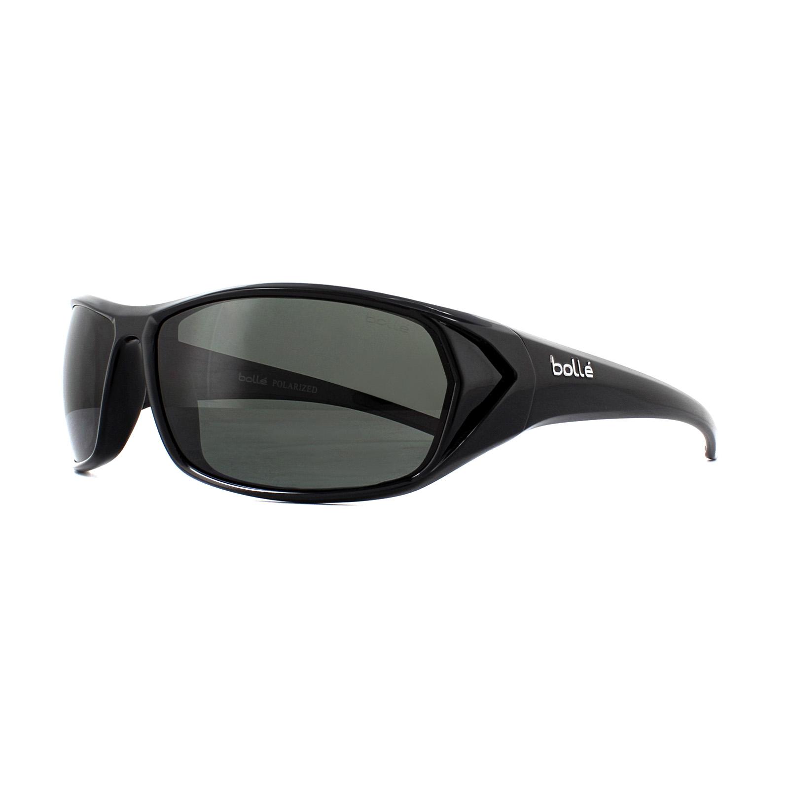 1084500f48 CENTINELA BOLLE gafas de sol cabrillas 12028 TNS negro brillante gris  polarizado