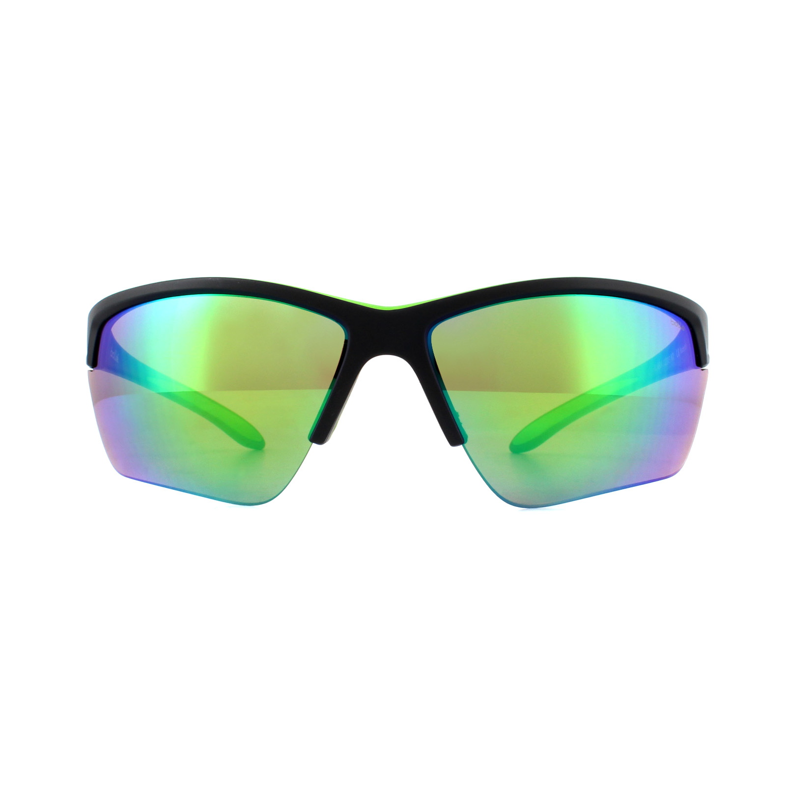 740c2f58bf Sentinel Bolle Sunglasses Flash 12213 Matt Black Green Brown Emerald