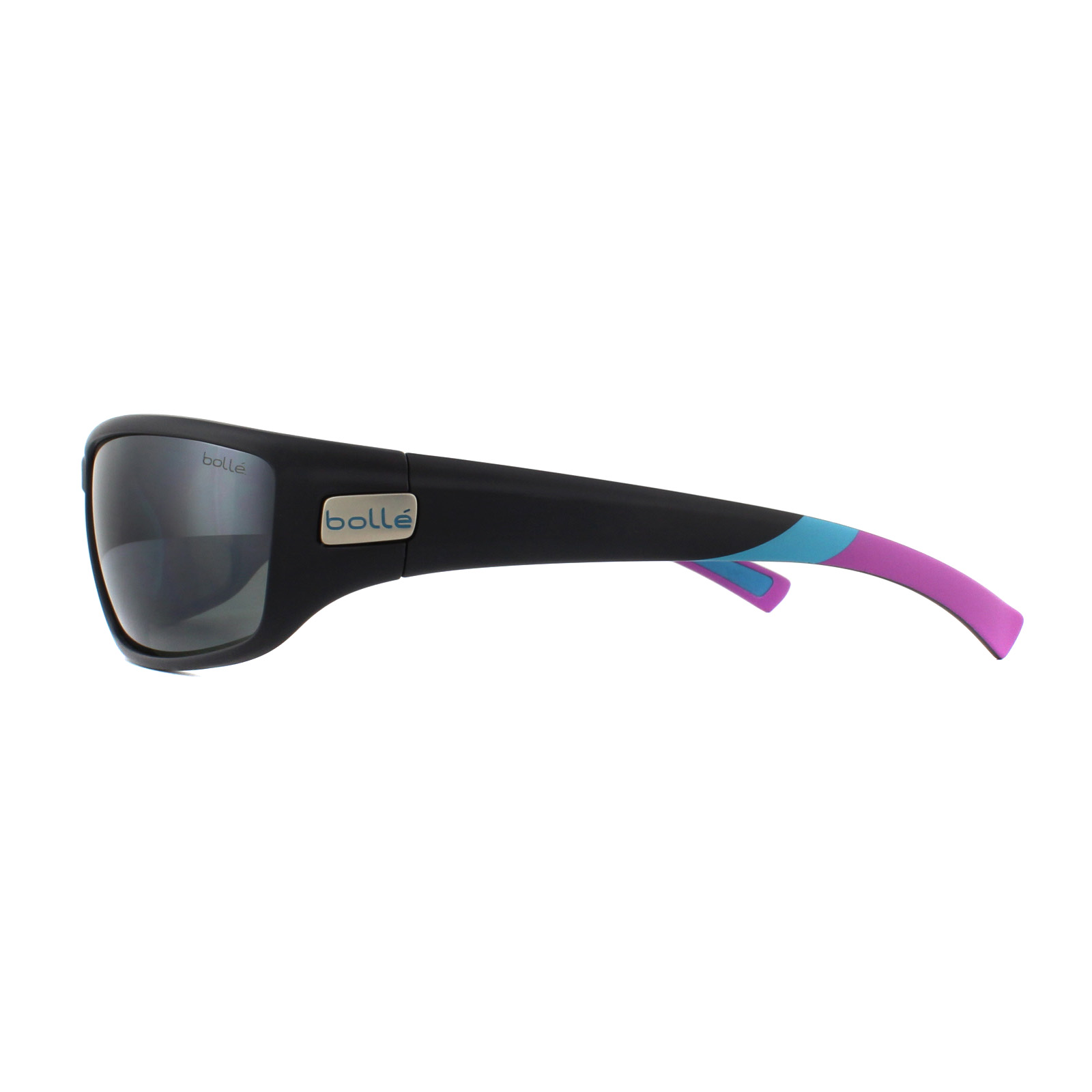 12435 Bolle Python Polarized Oleophobic Women/'s Sunglasses w// Gun Flash Lens