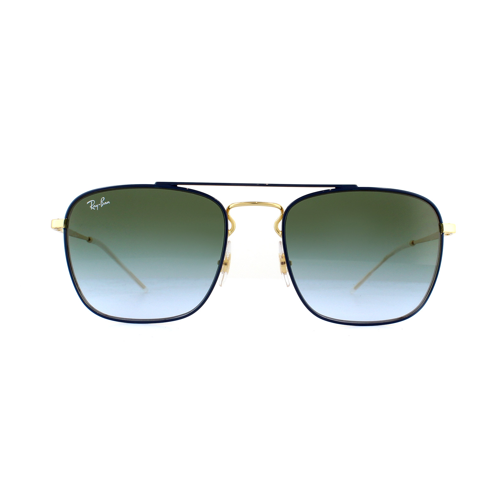c9bf9b7a95 Sentinel Ray-Ban Sunglasses 3588 9062I7 Blue Gold Green Gradient