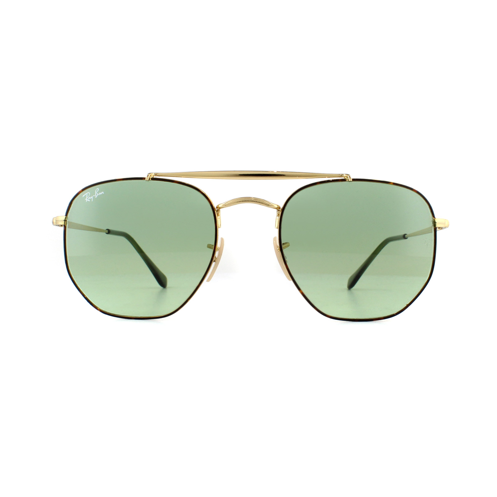04d59d75d3 Sentinel Ray-Ban Sunglasses Marshal 3648 91034M Tortoise Gold Green Gradient