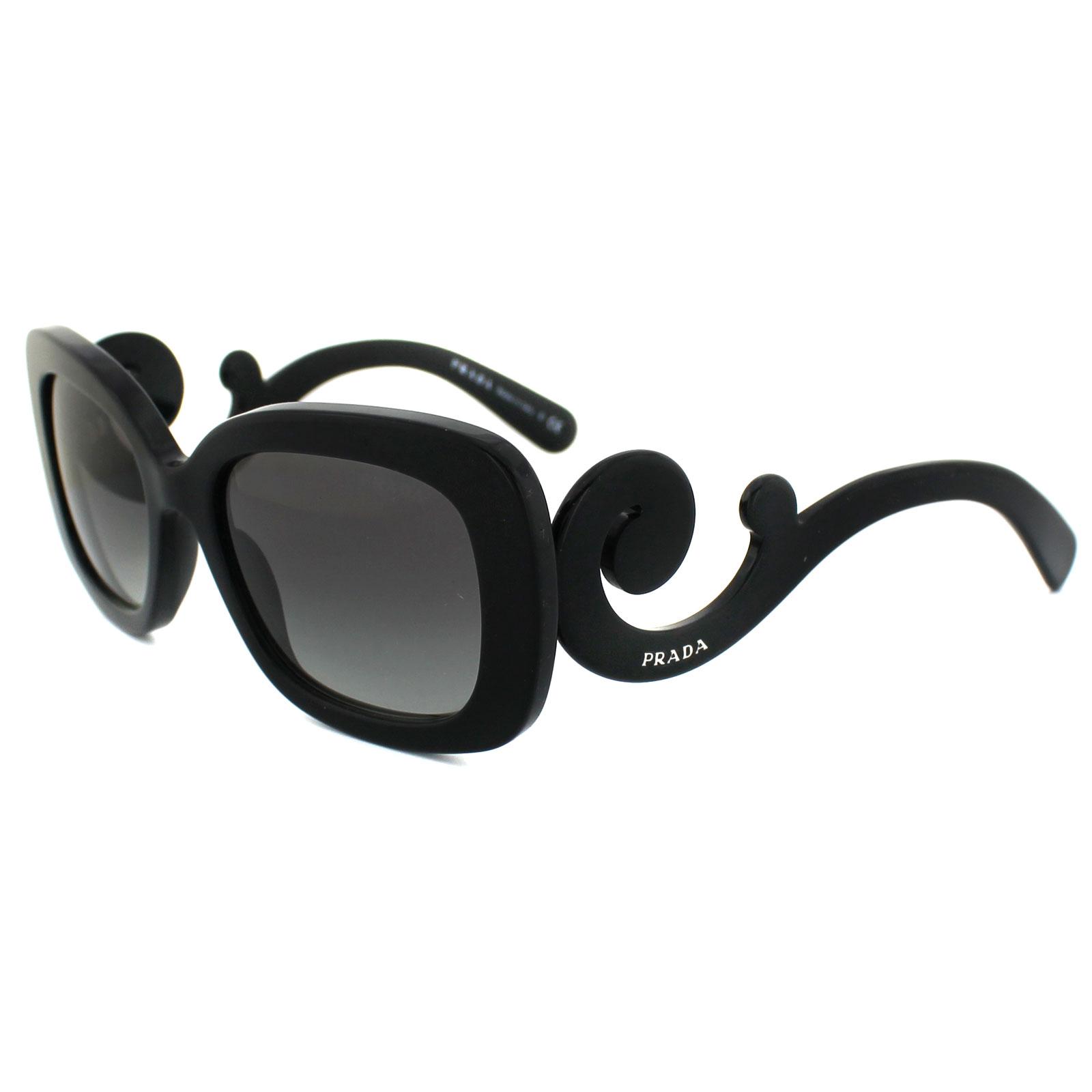0d0255a01 Prada Sunglasses 27OS 1AB3M1 Black Grey Gradient 679420547664 | eBay