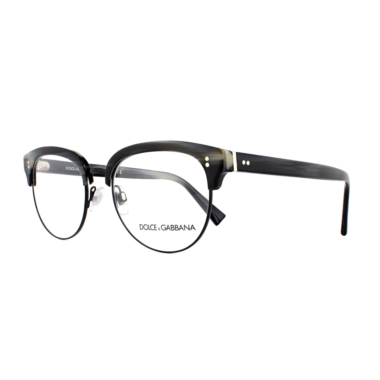 2038269156 Sentinel Dolce   Gabbana Glasses Frames DG 3270 3117 Striped Blue Black 52mm  Mens