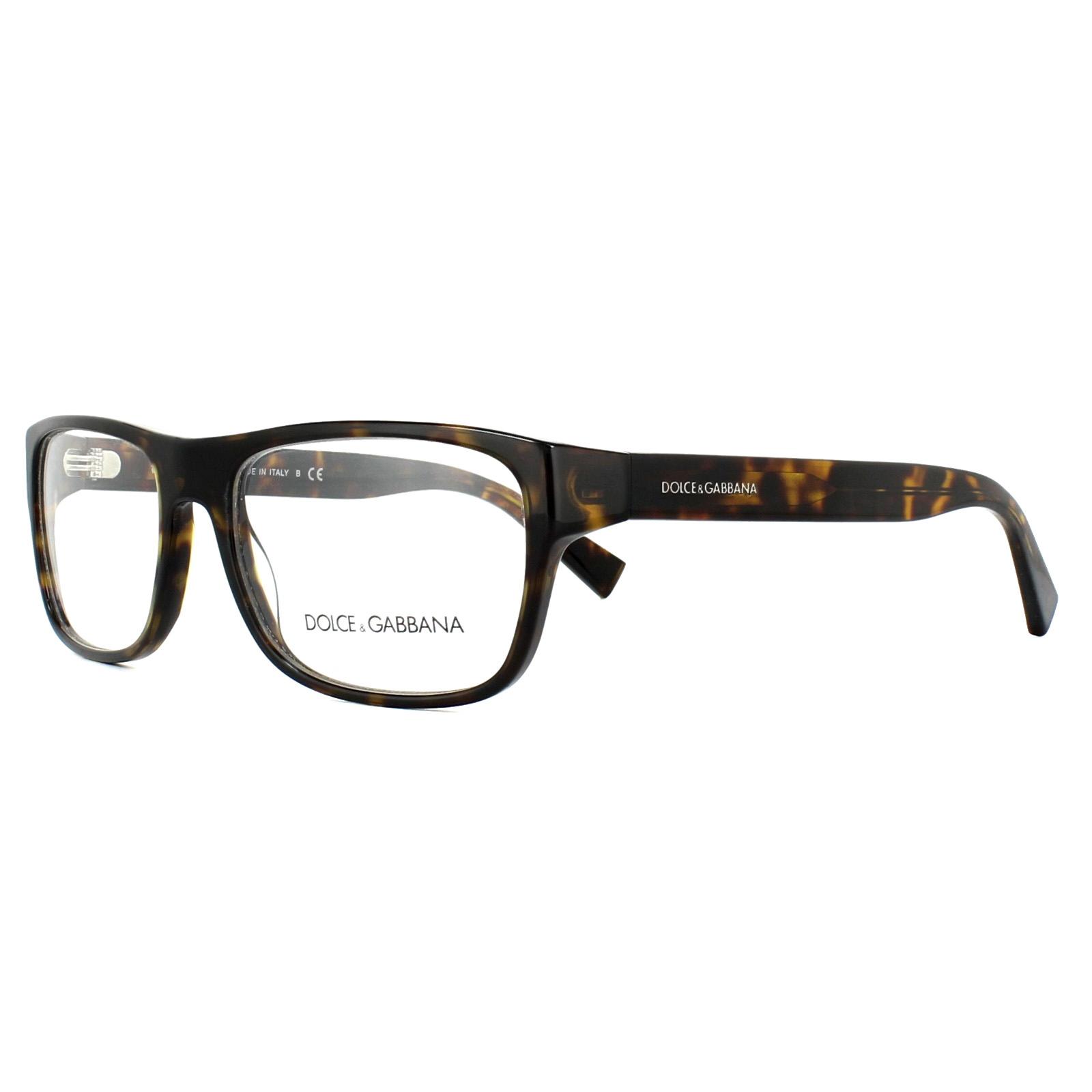 3c61f8fdc1fd Details about Dolce   Gabbana Glasses Frames DG 3276 502 Havana 52mm Mens