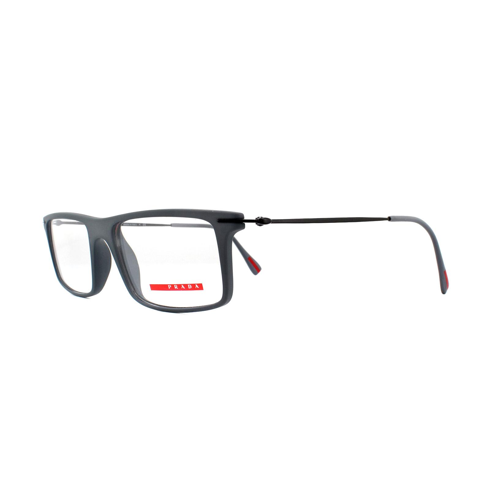 15f8215a8d4 Sentinel Prada Sport Glasses Frames PS 03EV ROR1O1 Grey 51mm Mens