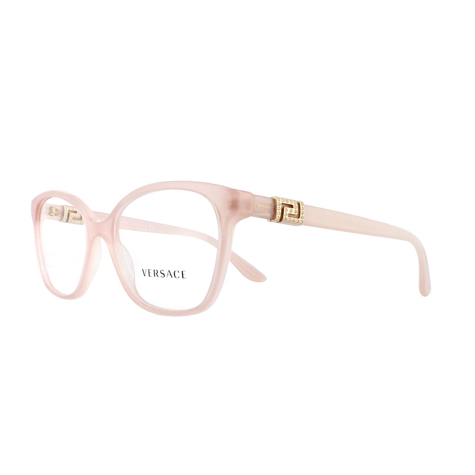 6f404598541e Sentinel Versace Glasses Frames 3235B 5224 Opal Powder 54mm Womens