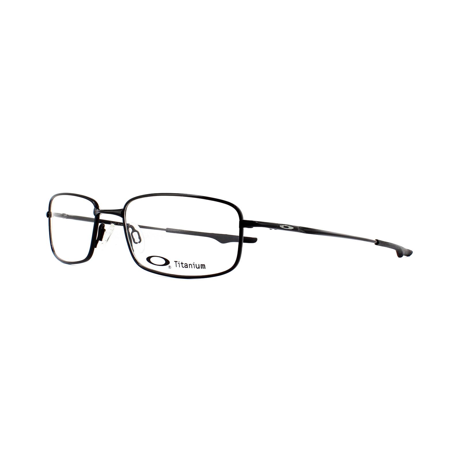 5d3abacf26 Sentinel Oakley Glasses Frames Keel Blade OX3125-01 Polished Black 53mm Mens