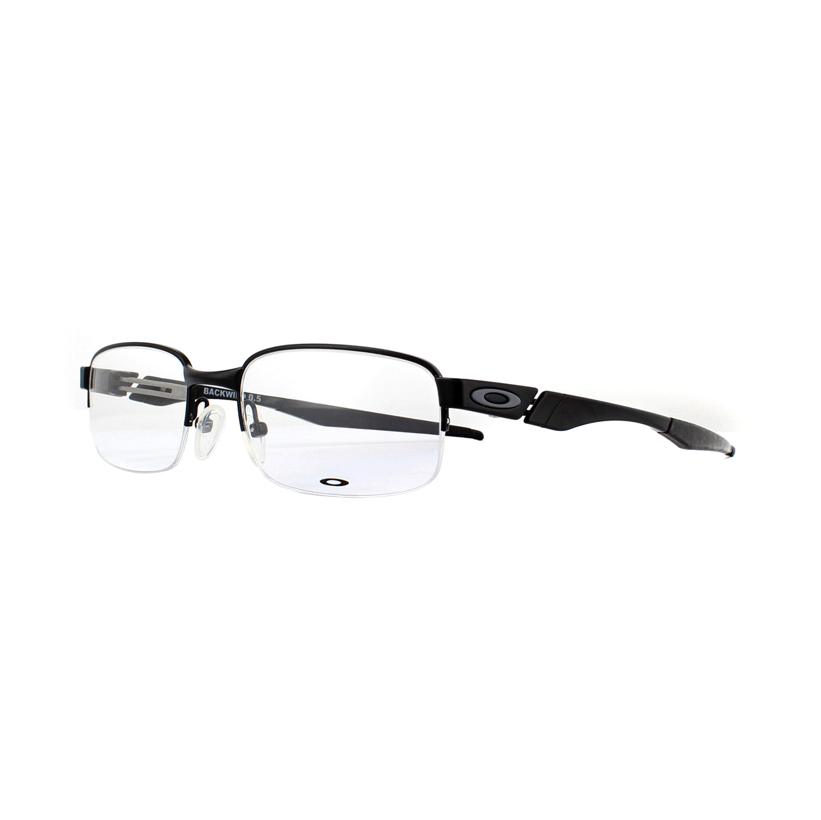 5d2a710455 Sentinel Oakley Glasses Frames Backwind 0.5 OX3163-03 Satin Black 52mm Mens