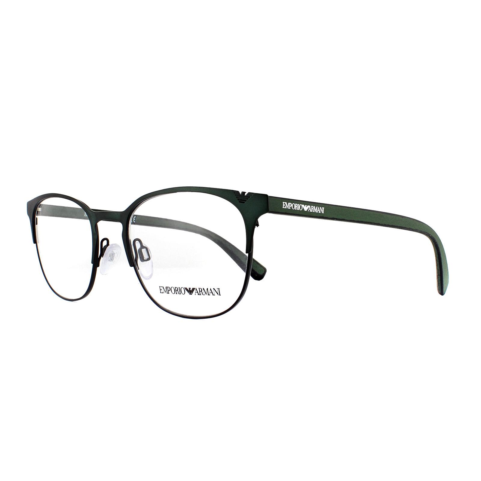 a46127f1d067 Sentinel Emporio Armani Glasses Frames EA 1059 3180 Green 51mm Mens