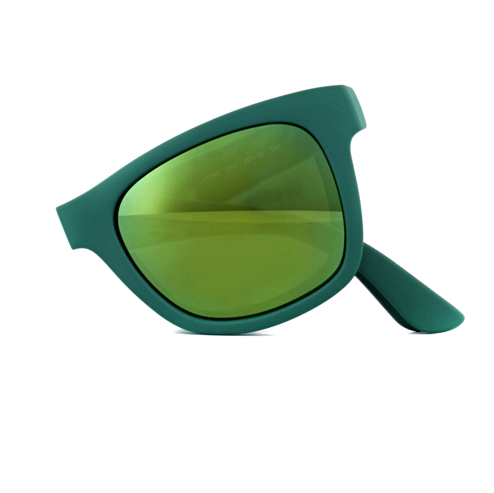 b0c9e59c74f0 Lacoste Sunglasses L778S 315 Folding Matt Green Green 886895263115 ...