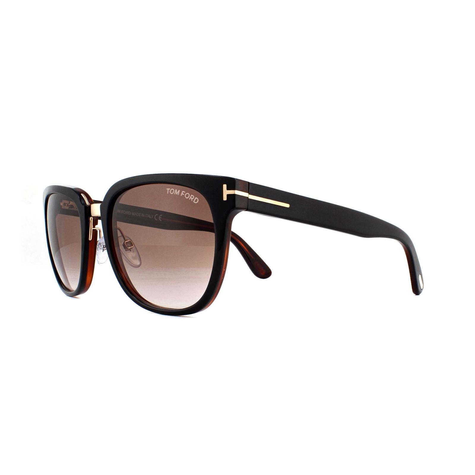e803fada444 Sentinel Tom Ford Sunglasses 0290 Rock 01F Shiny Black Brown Gradient.  Sentinel Thumbnail 2