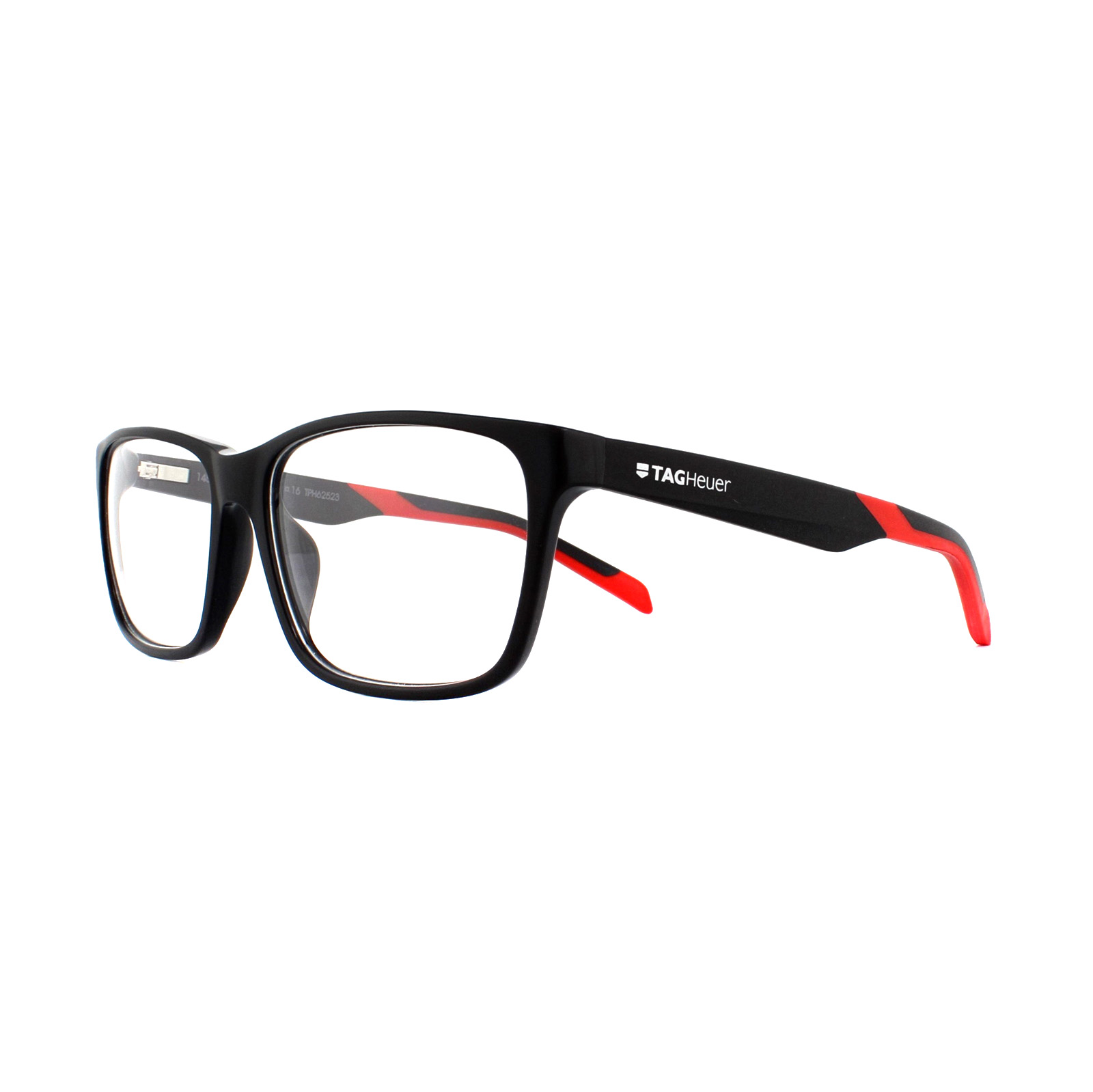 Details about Tag Heuer Glasses Frames B-Urban TH0552 005 Black & Red