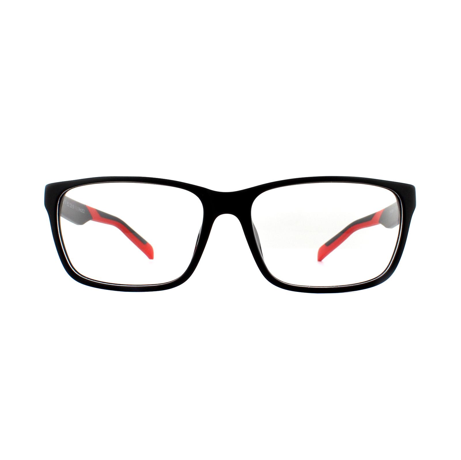 cb3f8f479c Sentinel Thumbnail 1. Sentinel Tag Heuer Glasses Frames B-Urban TH0552 005  Black   Red. Sentinel Thumbnail 2