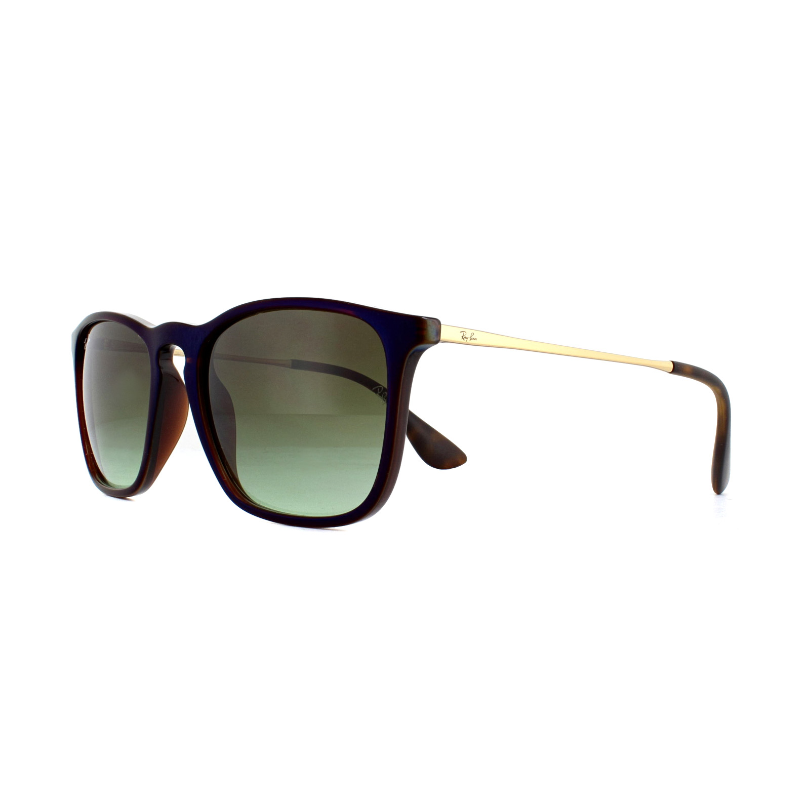 2cc34fa77d Sentinel Ray-Ban Sunglasses Chris 4187 6315E8 Transparent Brown Green Brown  Gradient