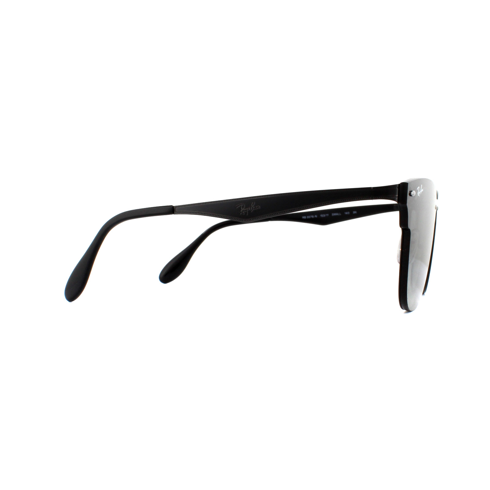 e2170ba31d Sentinel Ray-Ban Sunglasses Blaze Clubmaster 3576N 153 11 Demi Gloss Black  Gradient Grey