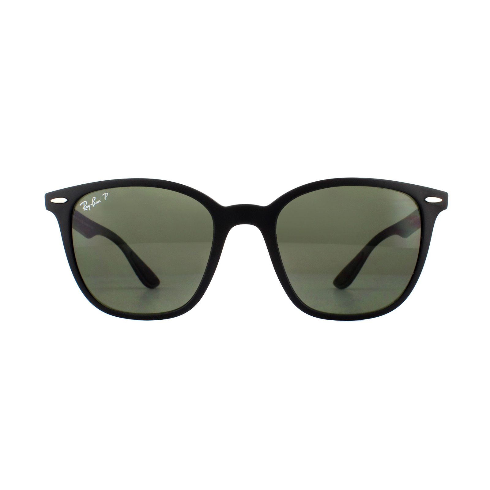 eadf728d068 Sentinel Ray-Ban Sunglasses RB4297 601S9A Matte Black Green Polarized