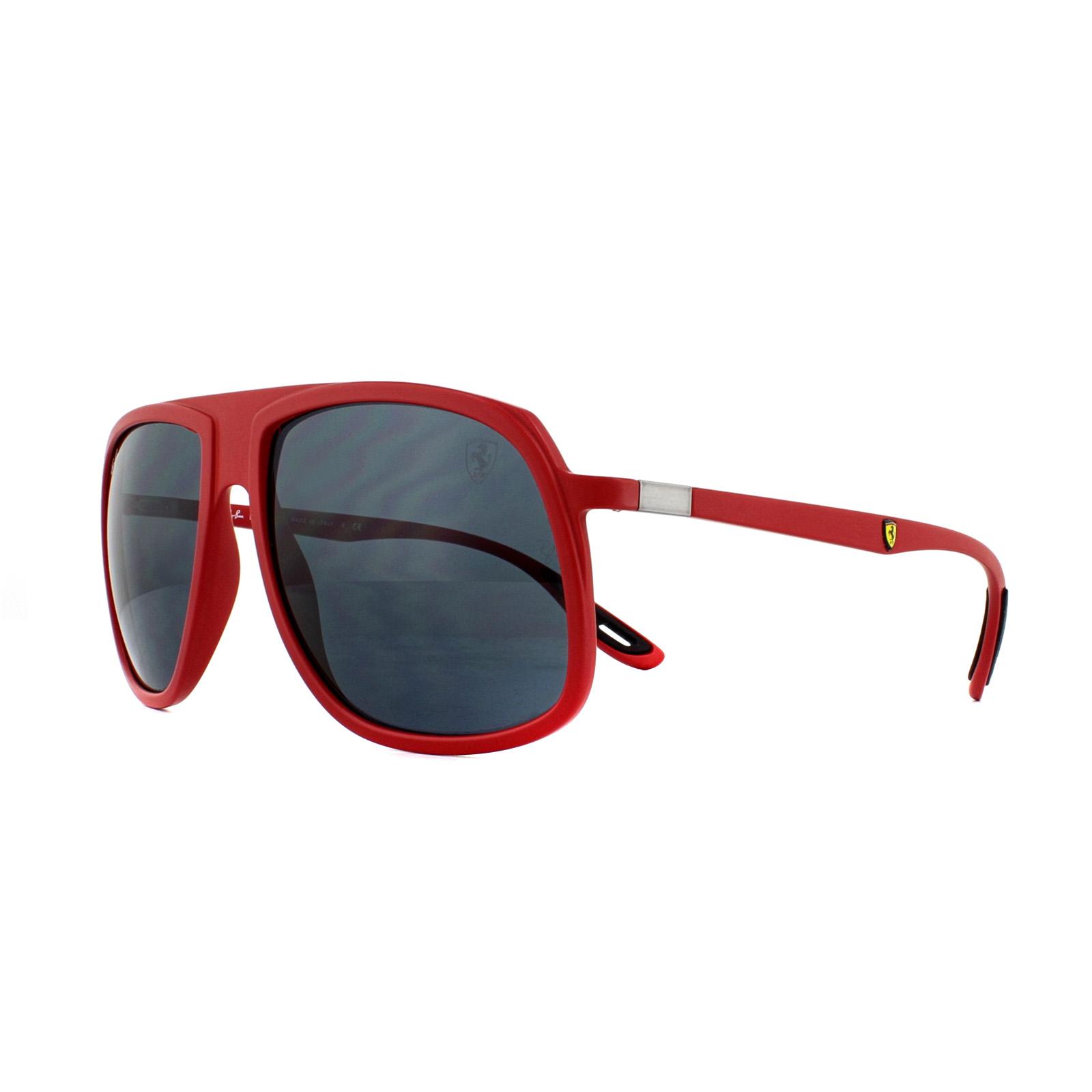 eb29c290f9f Sentinel Ray-Ban Sunglasses Scuderia Ferrari RB4308M F62887 Matte Red Grey  Gradient