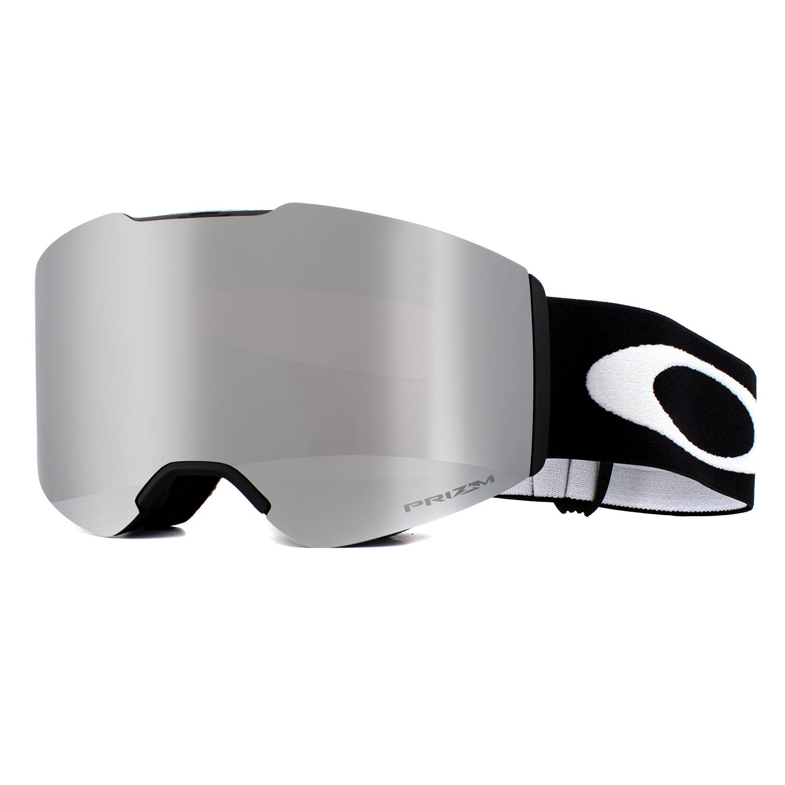 163fe04f3a Sentinel Oakley Ski Goggles Fall Line OO7085-01 Matte Black Prizm Black  Iridium