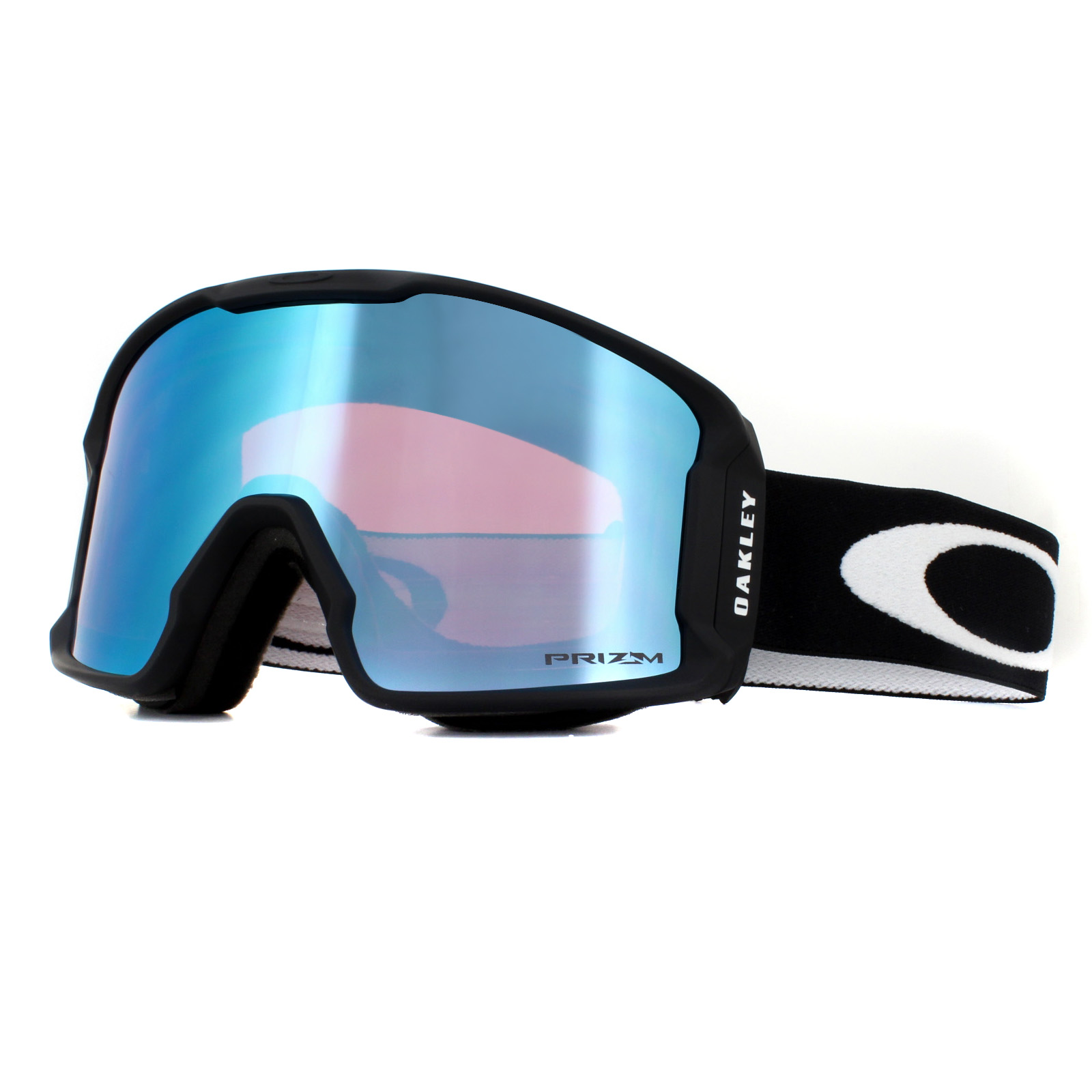 0e4b2082c6c3 Sentinel Oakley Ski Goggles Line Miner XM OO7093-03 Matte Black Prizm Torch  Iridium