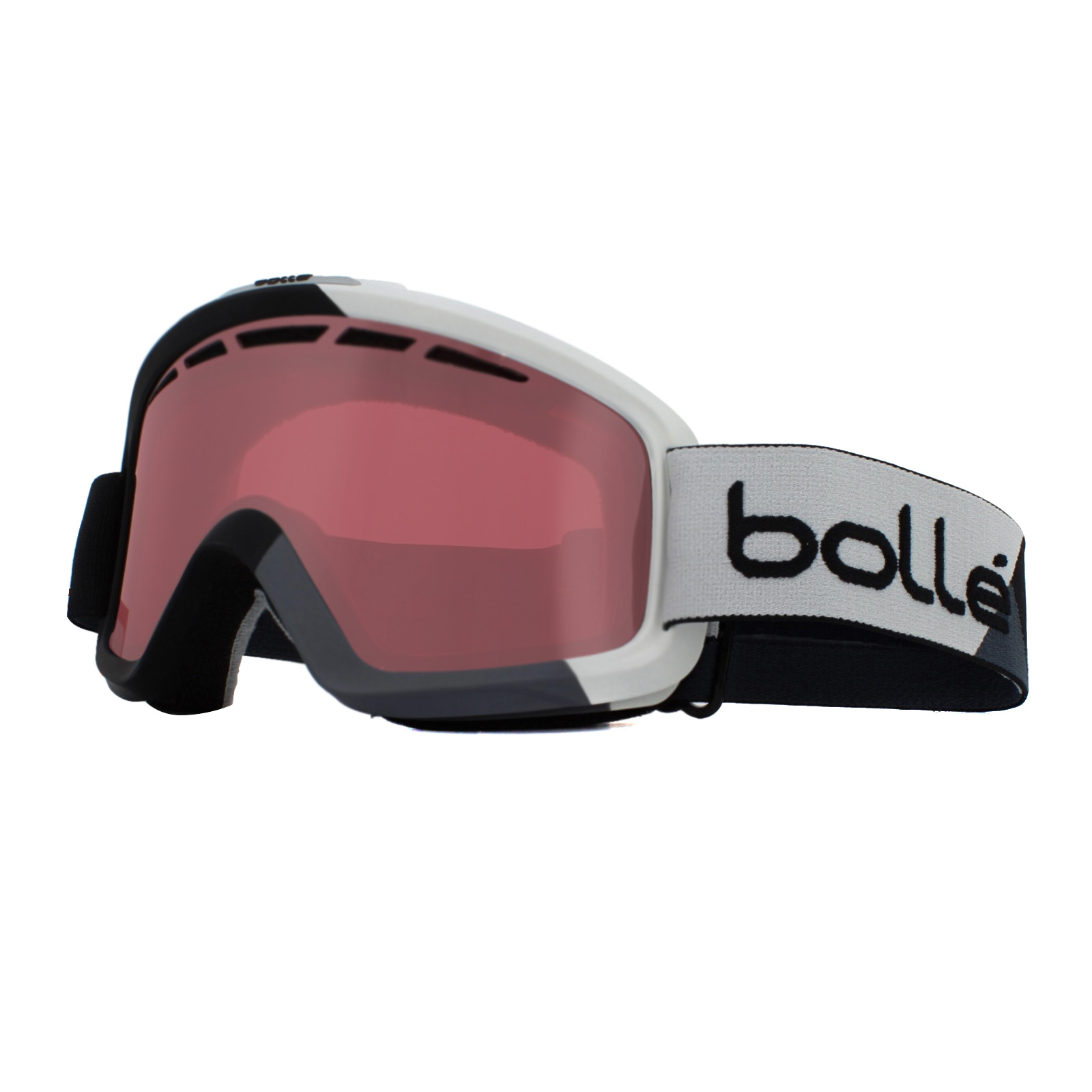 017d7fbb85 Sentinel Bolle Ski Goggles Nova II 21472 Matt Black   Grey Vermillon Gun
