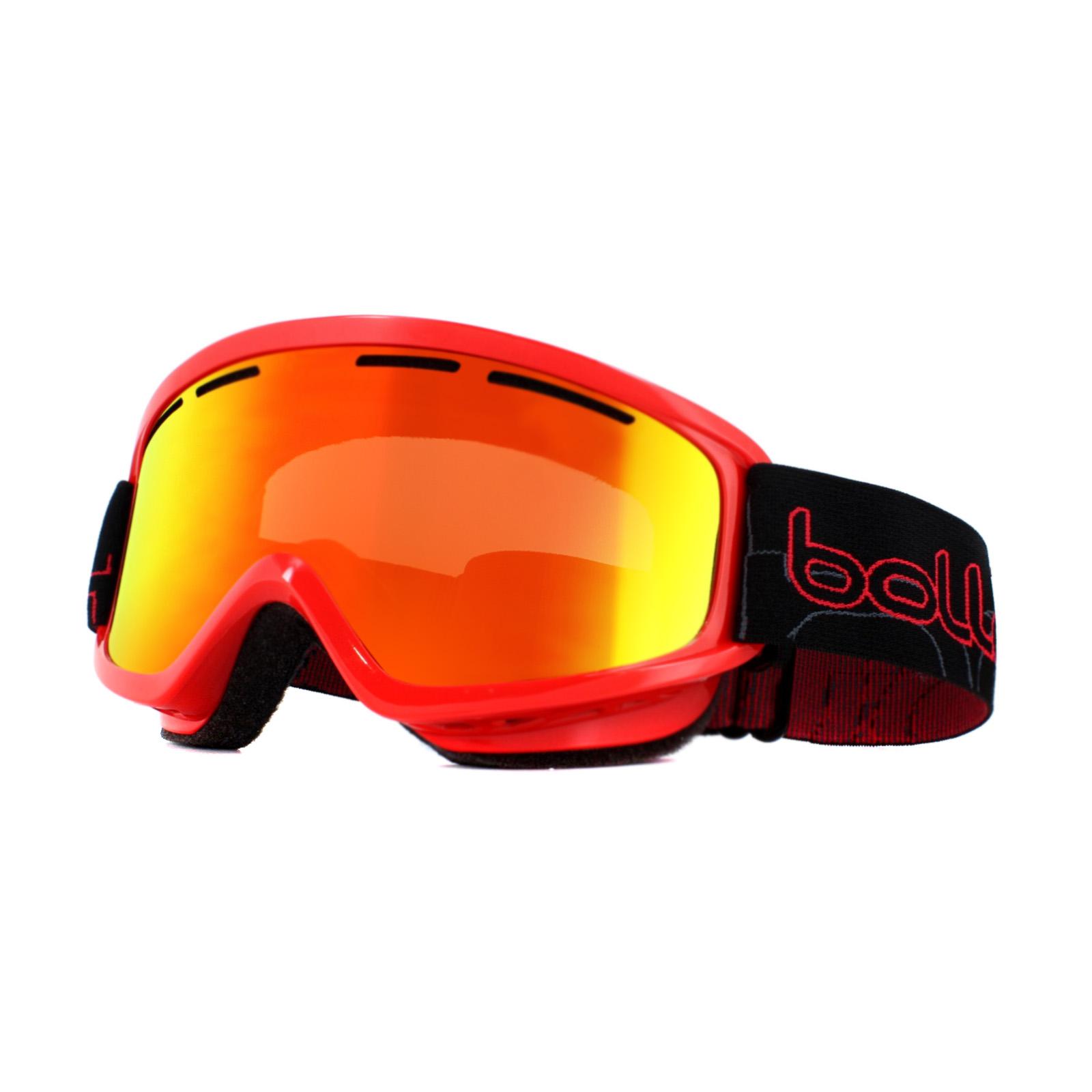 684184e1376 Sentinel Bolle Ski Goggles Schuss 21481 Shiny Red Sunrise