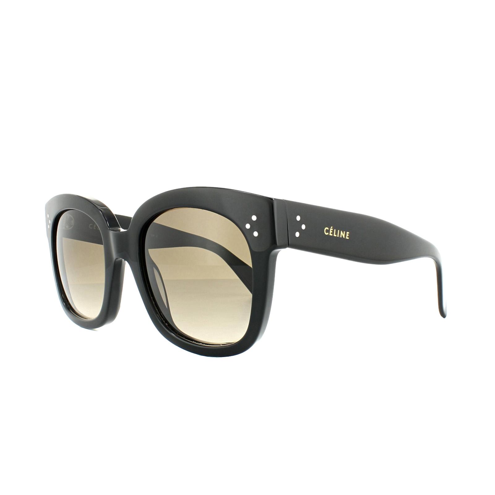 775b558d615 Sentinel Celine Sunglasses 41805 S New Audrey 807 HA Black Brown Gradient