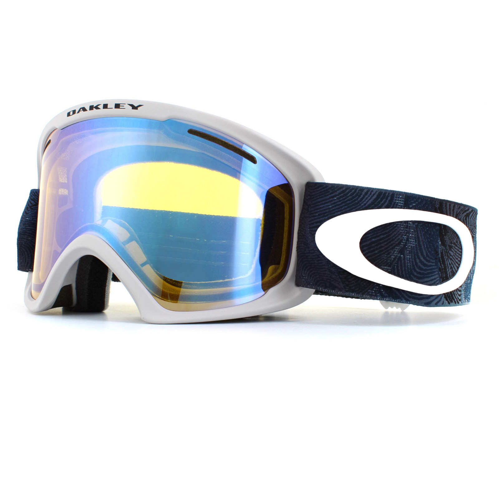 fcb6bc48b3 Sentinel Oakley Ski Goggles O2 XL OO7045-40 Mystic Flow Poseidon Yellow  Iridium